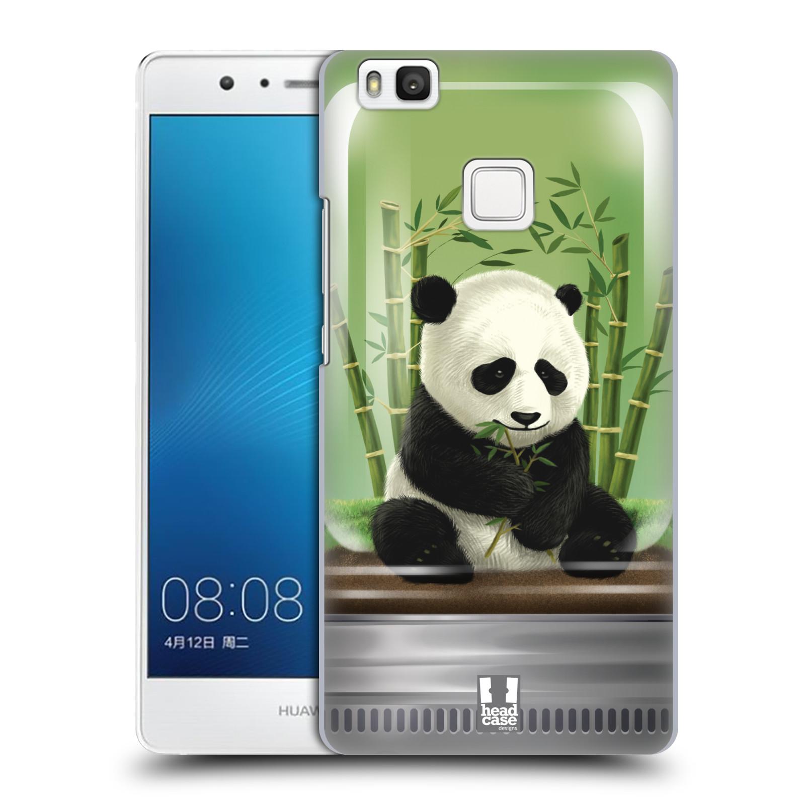 HEAD CASE plastový obal na mobil Huawei P9 LITE / P9 LITE DUAL SIM vzor Zvířátka v těžítku panda