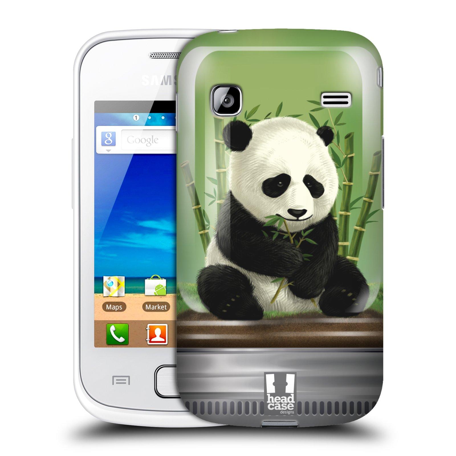 HEAD CASE plastový obal na mobil SAMSUNG GALAXY GIO (S5660) vzor Zvířátka v těžítku panda