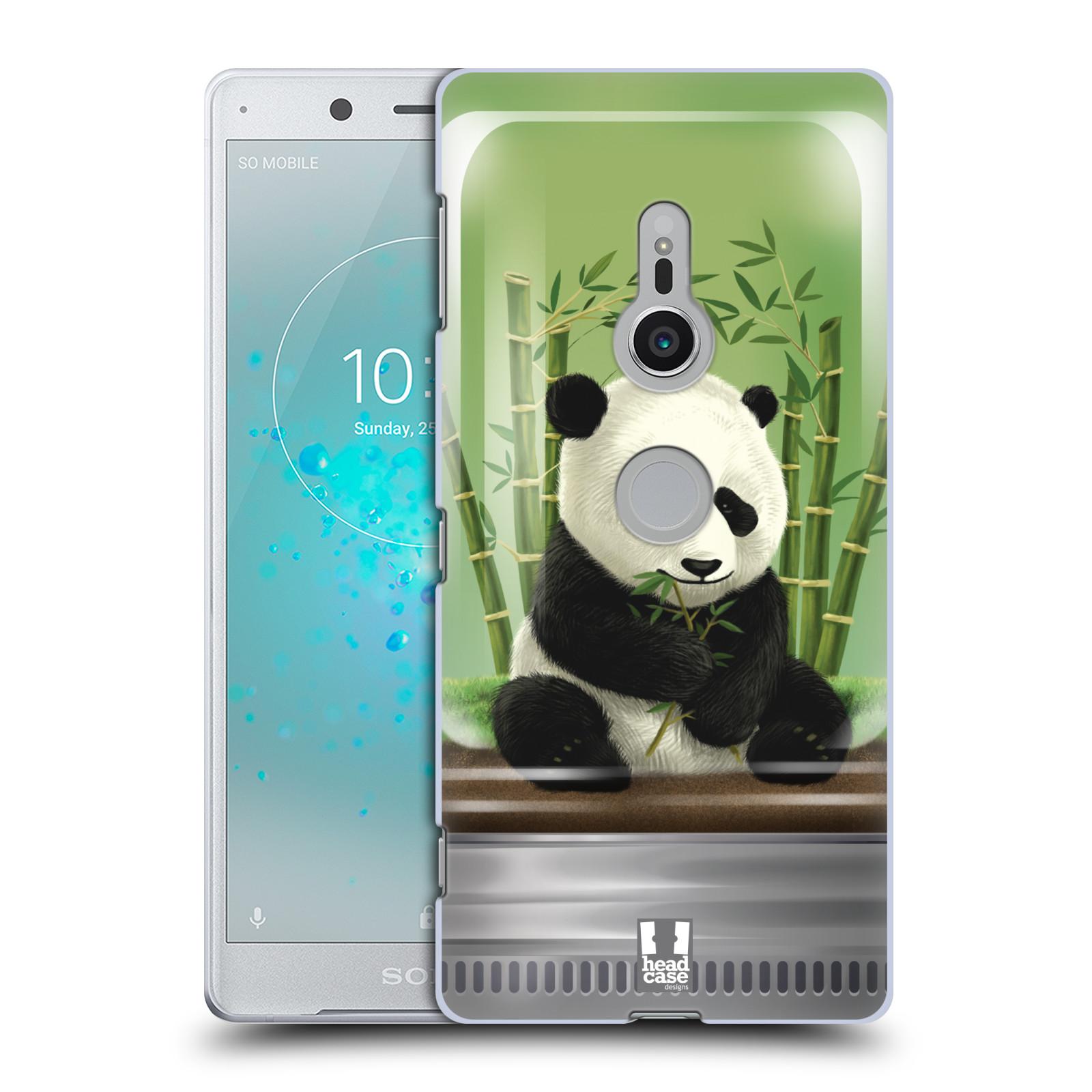 HEAD CASE plastový obal na mobil Sony Xperia XZ2 vzor Zvířátka v těžítku panda
