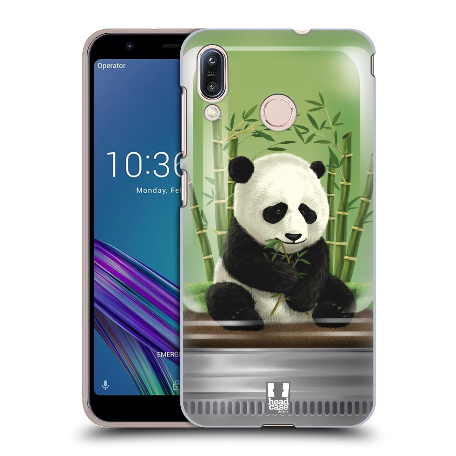 Pouzdro na mobil Asus Zenfone Max M1 (ZB555KL) - HEAD CASE - vzor Zvířátka v těžítku panda