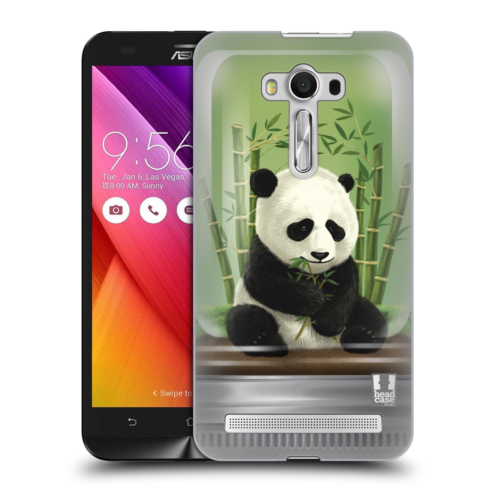 HEAD CASE plastový obal na mobil Asus Zenfone 2 LASER (5,5 displej ZE550KL) vzor Zvířátka v těžítku panda