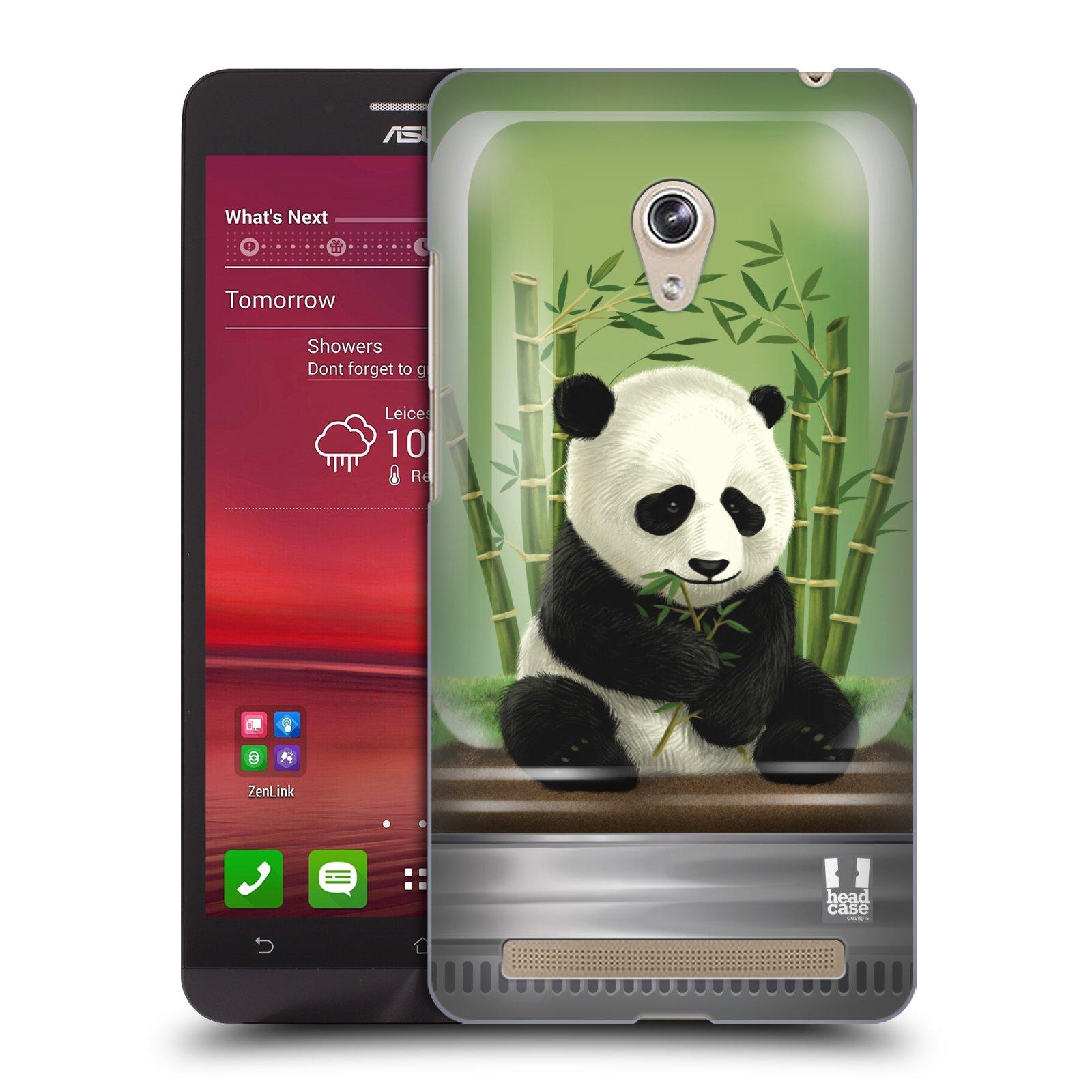 HEAD CASE plastový obal na mobil Asus Zenfone 6 vzor Zvířátka v těžítku panda