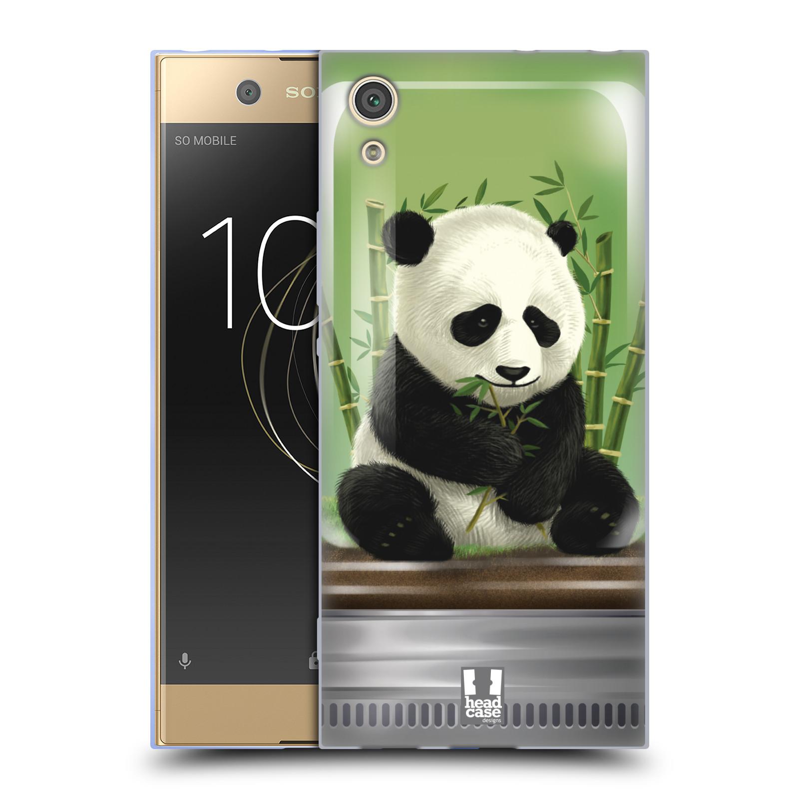 HEAD CASE silikonový obal na mobil Sony Xperia XA1 / XA1 DUAL SIM vzor Zvířátka v těžítku panda