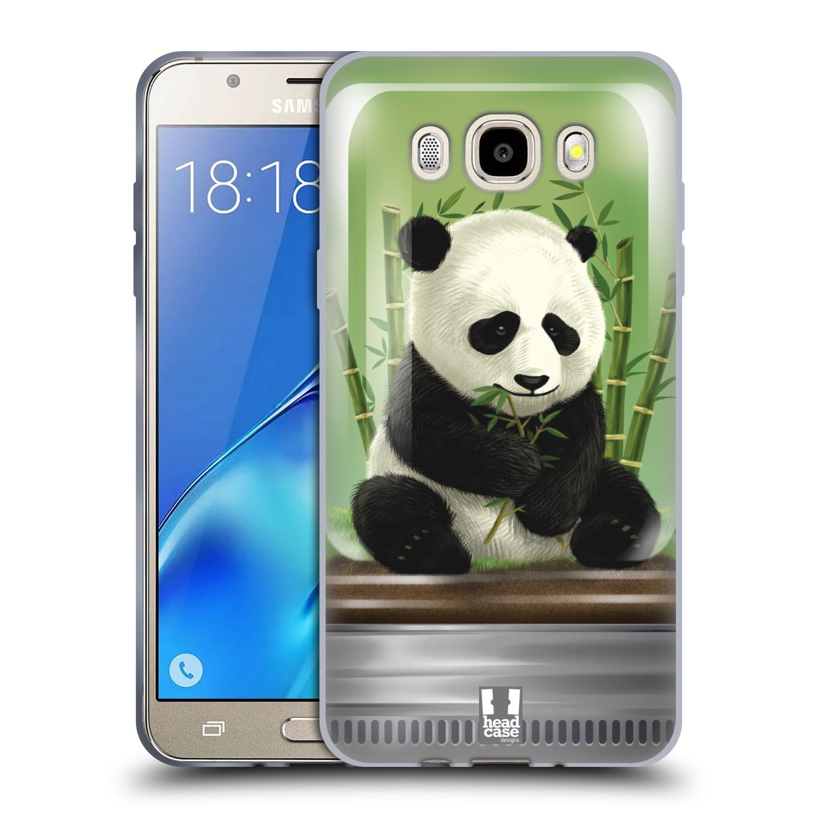 HEAD CASE silikonový obal, kryt na mobil Samsung Galaxy J5 2016, J510, J510F, (J510F DUAL SIM) vzor Zvířátka v těžítku panda