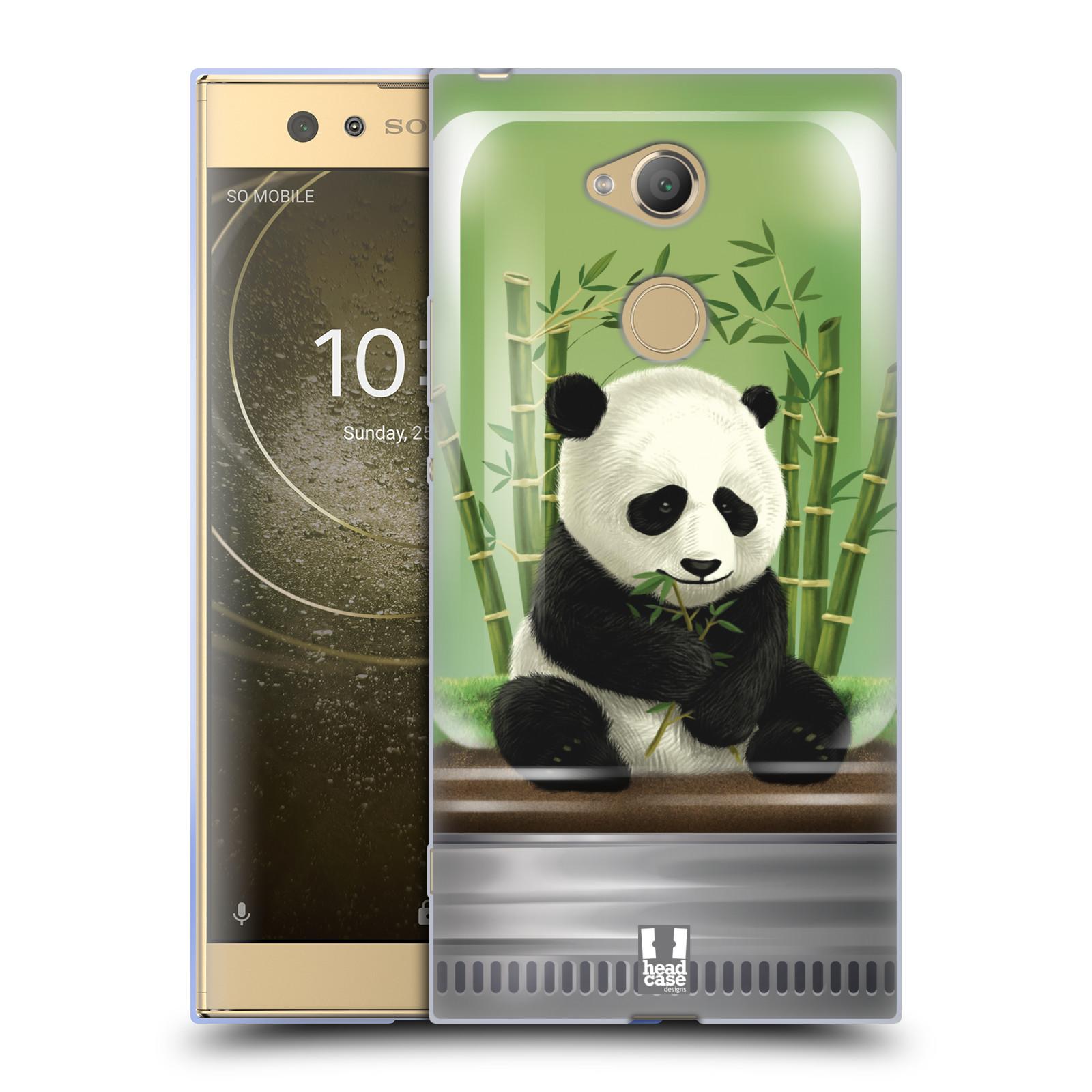 Pouzdro na mobil Sony Xperia XA2 Ultra vzor Zvířátka v těžítku panda