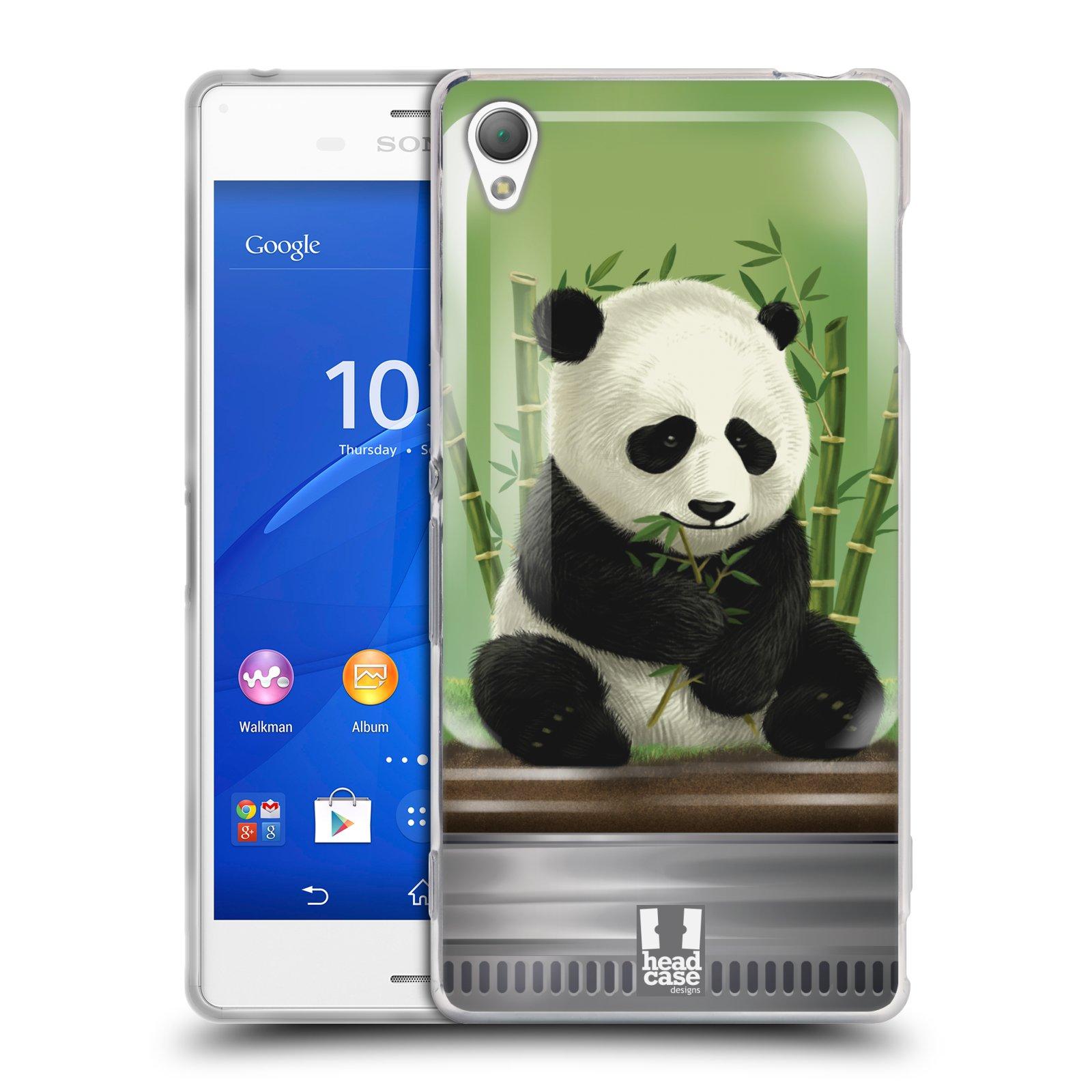 HEAD CASE silikonový obal na mobil Sony Xperia Z3 vzor Zvířátka v těžítku panda