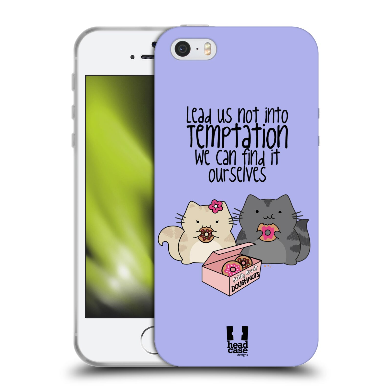 HEAD CASE WILBUR AND THE MERRY BAND OF MISCHIEFS GEL CASE FOR APPLE iPHONE 5
