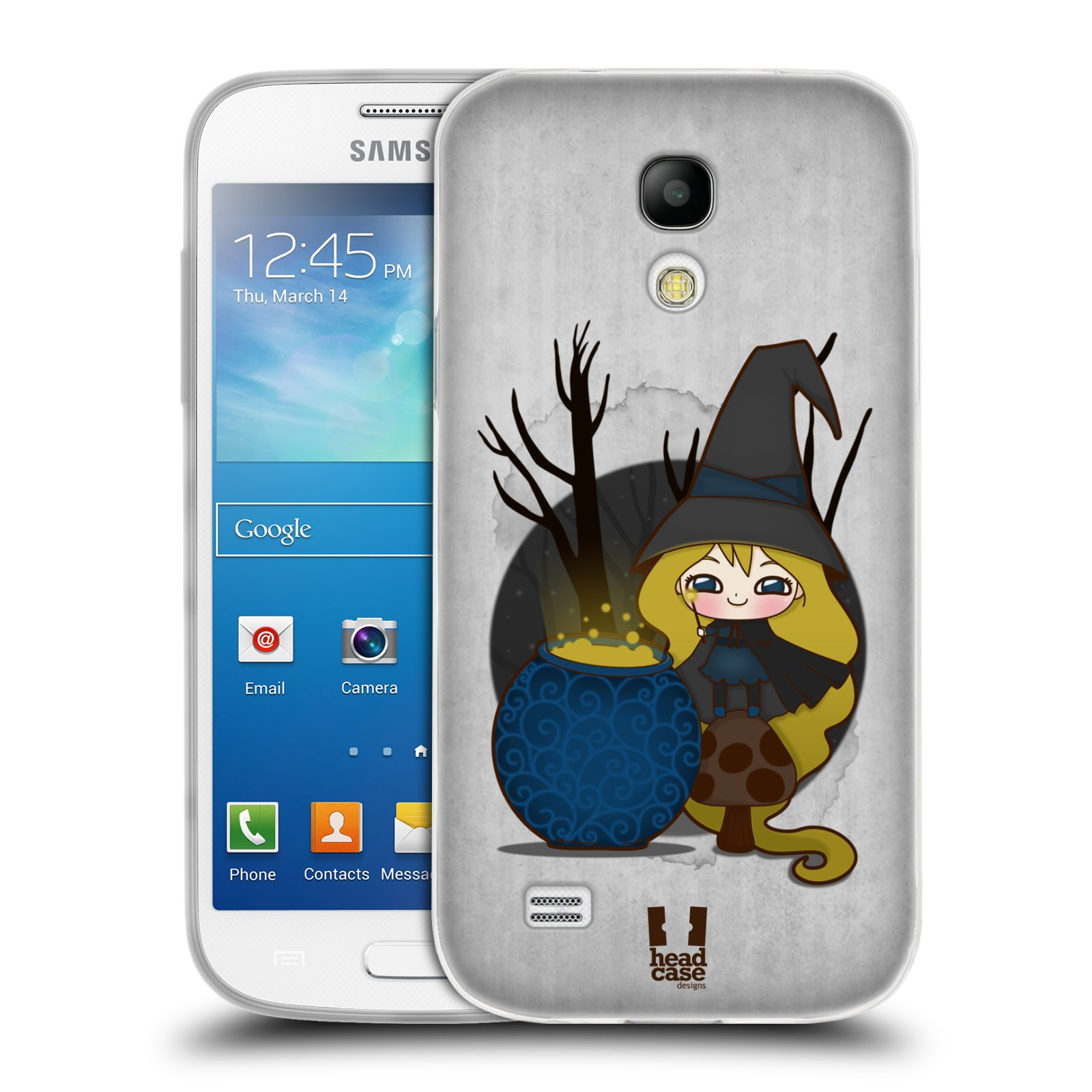 HEAD CASE WITCHES SILICONE GEL CASE FOR SAMSUNG GALAXY S4 MINI DUOS I9192
