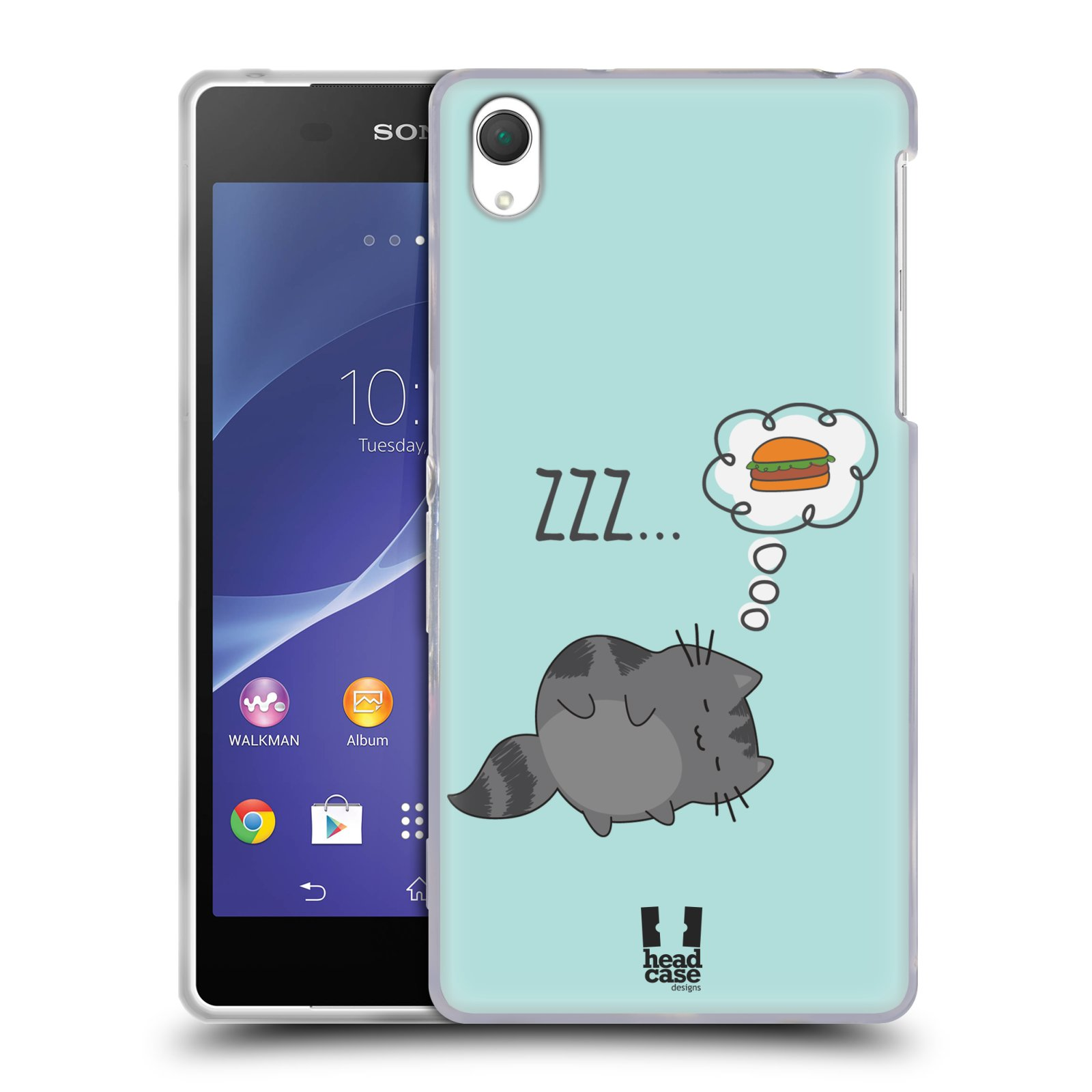 head case wilbur the cat silicone gel case for sony xperia. Black Bedroom Furniture Sets. Home Design Ideas