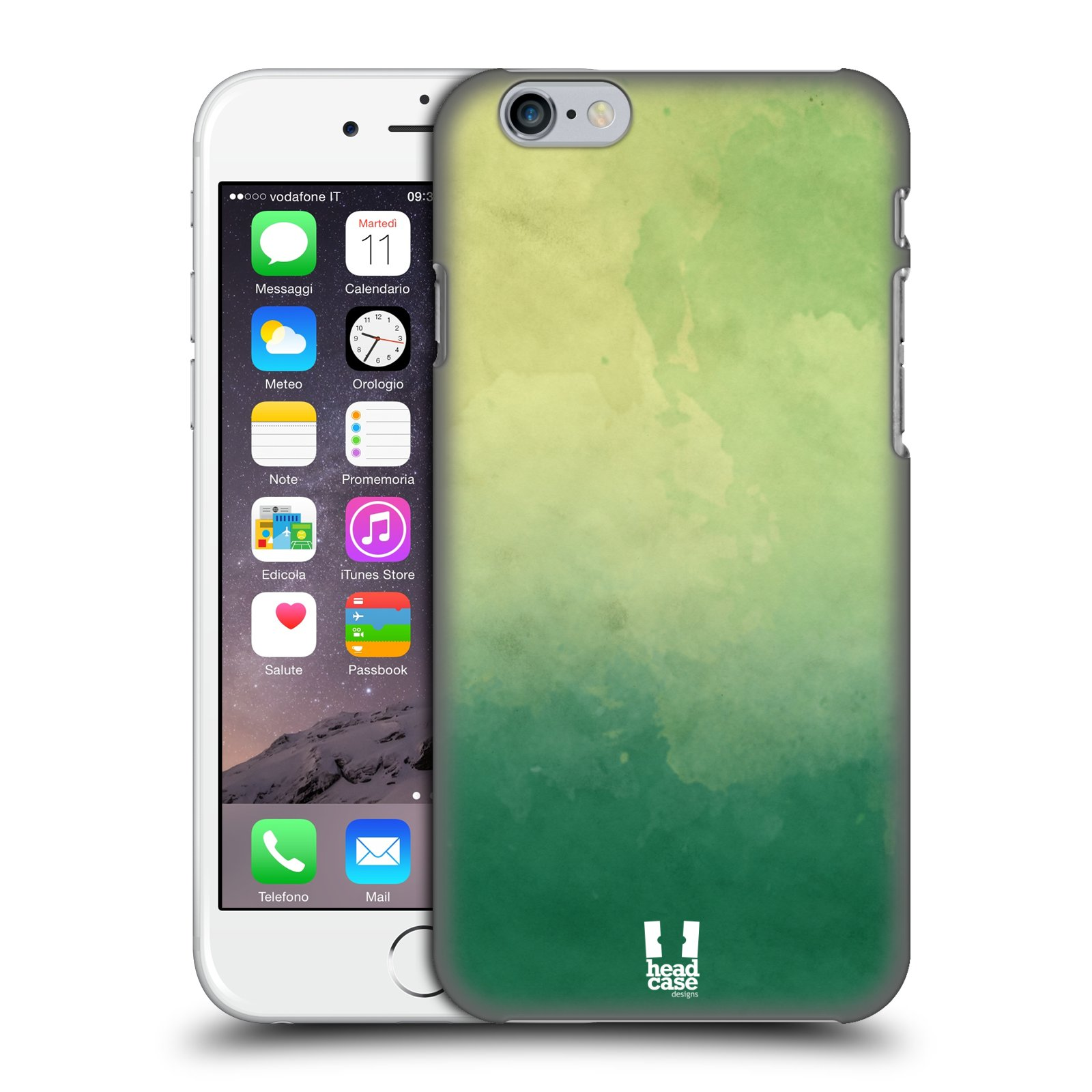 HEAD CASE DESIGNS WATERCOLOURED OMBRE HARD BACK CASE FOR APPLE iPHONE PHONES