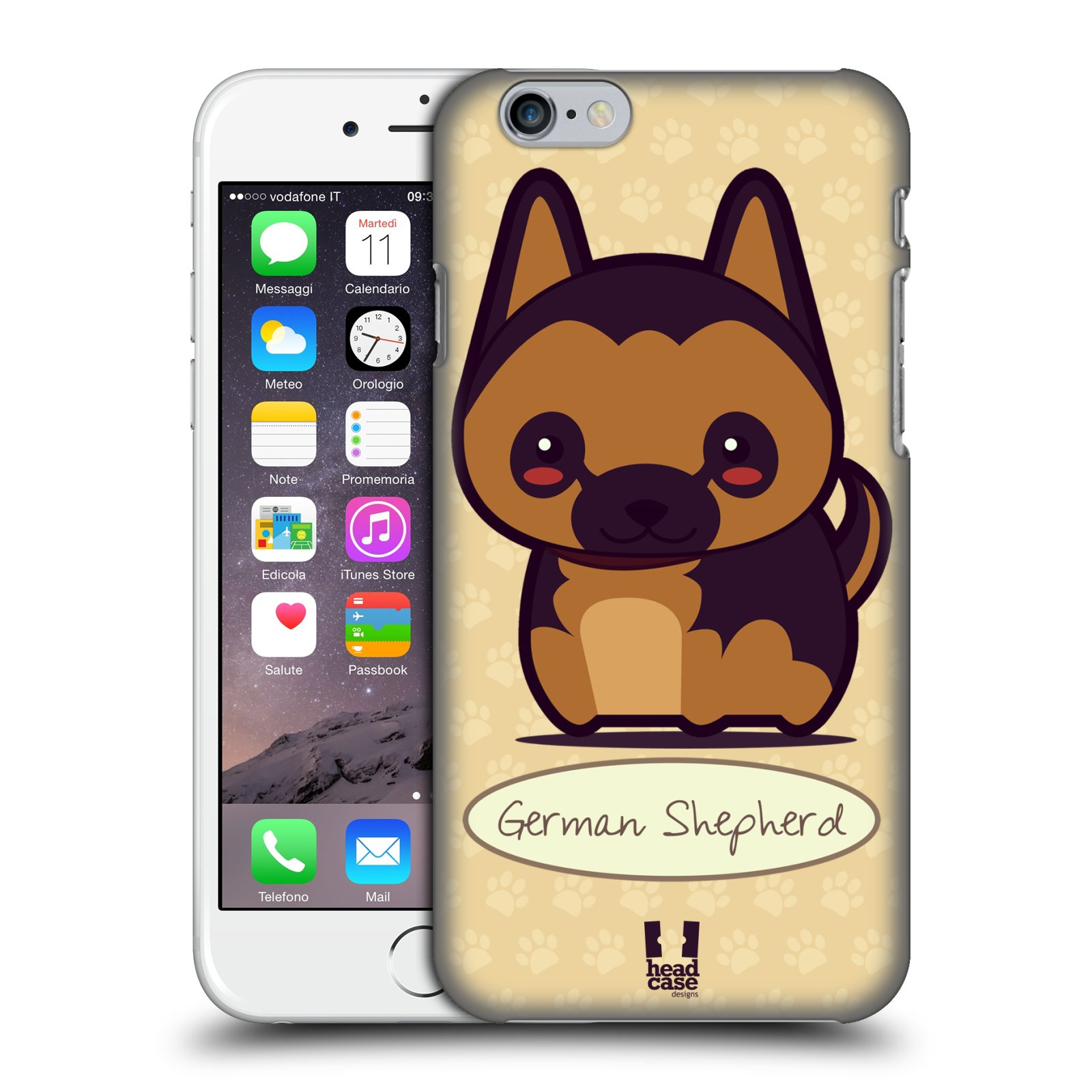 HEAD CASE DESIGNS WONDER DOGS CASE COVER FOR APPLE iPHONE 6 4.7