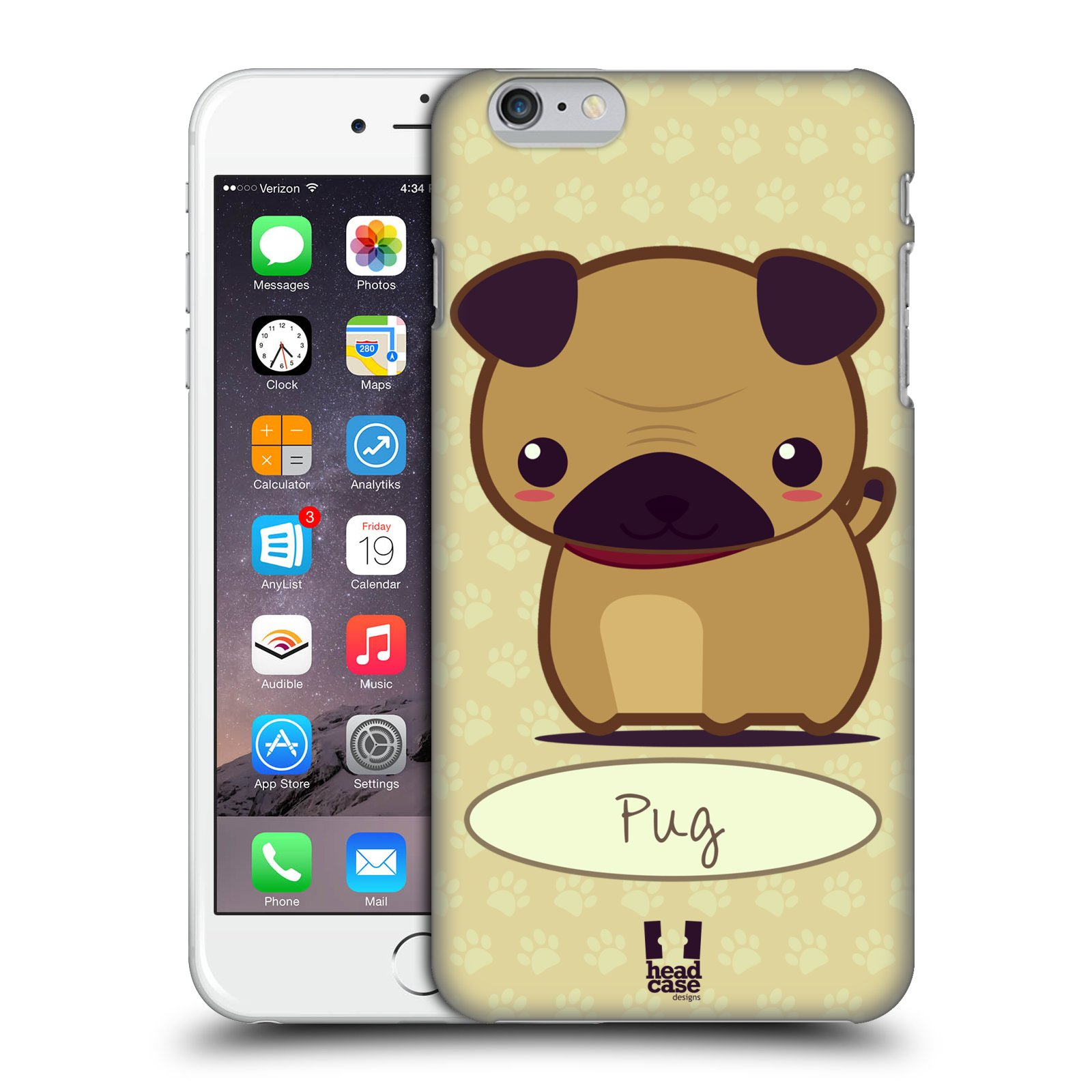 HEAD CASE DESIGNS WONDER DOGS CASE COVER FOR APPLE iPHONE 6 PLUS 5.5