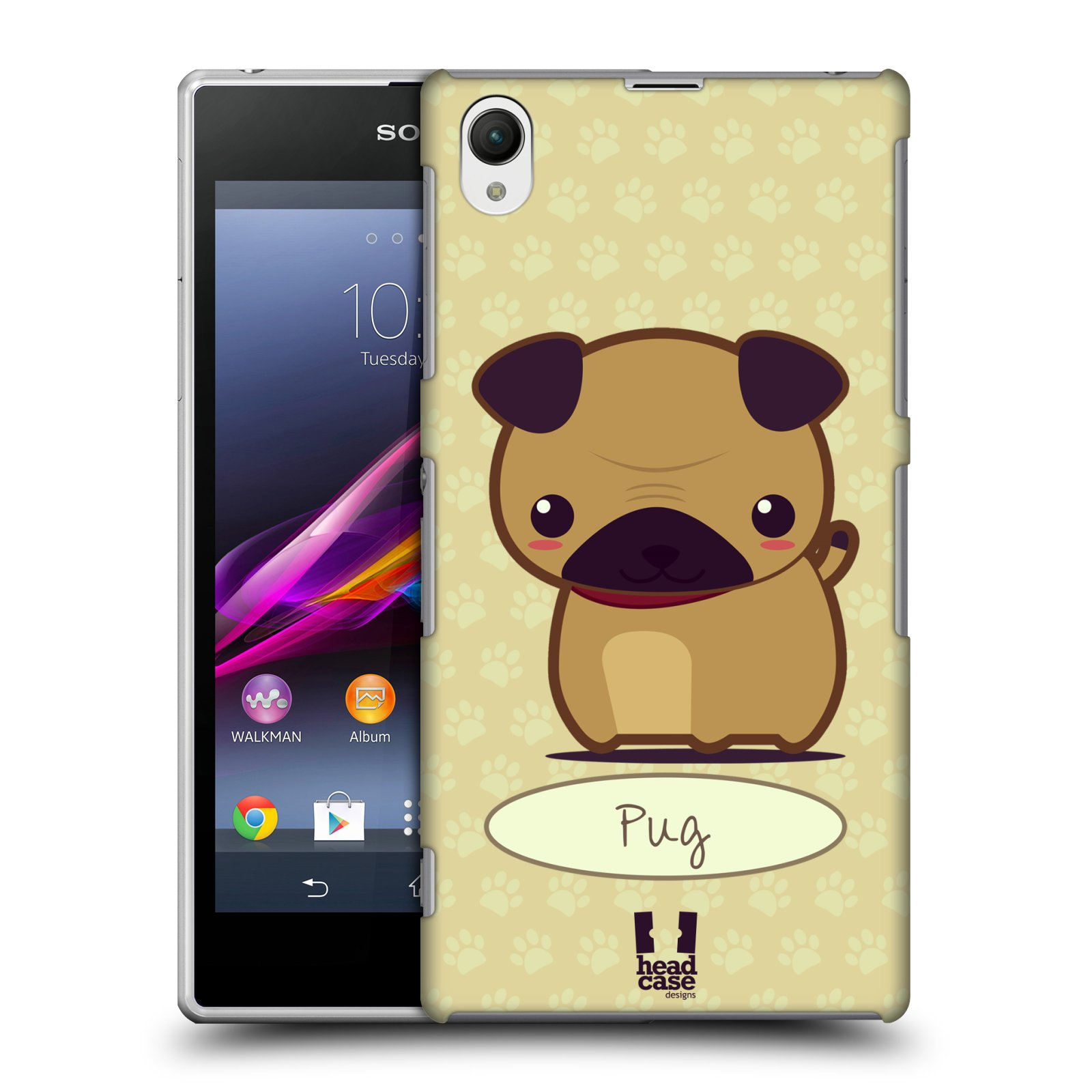 HEAD CASE DESIGNS WONDER DOGS CASE FOR SONY XPERIA Z1 C6902