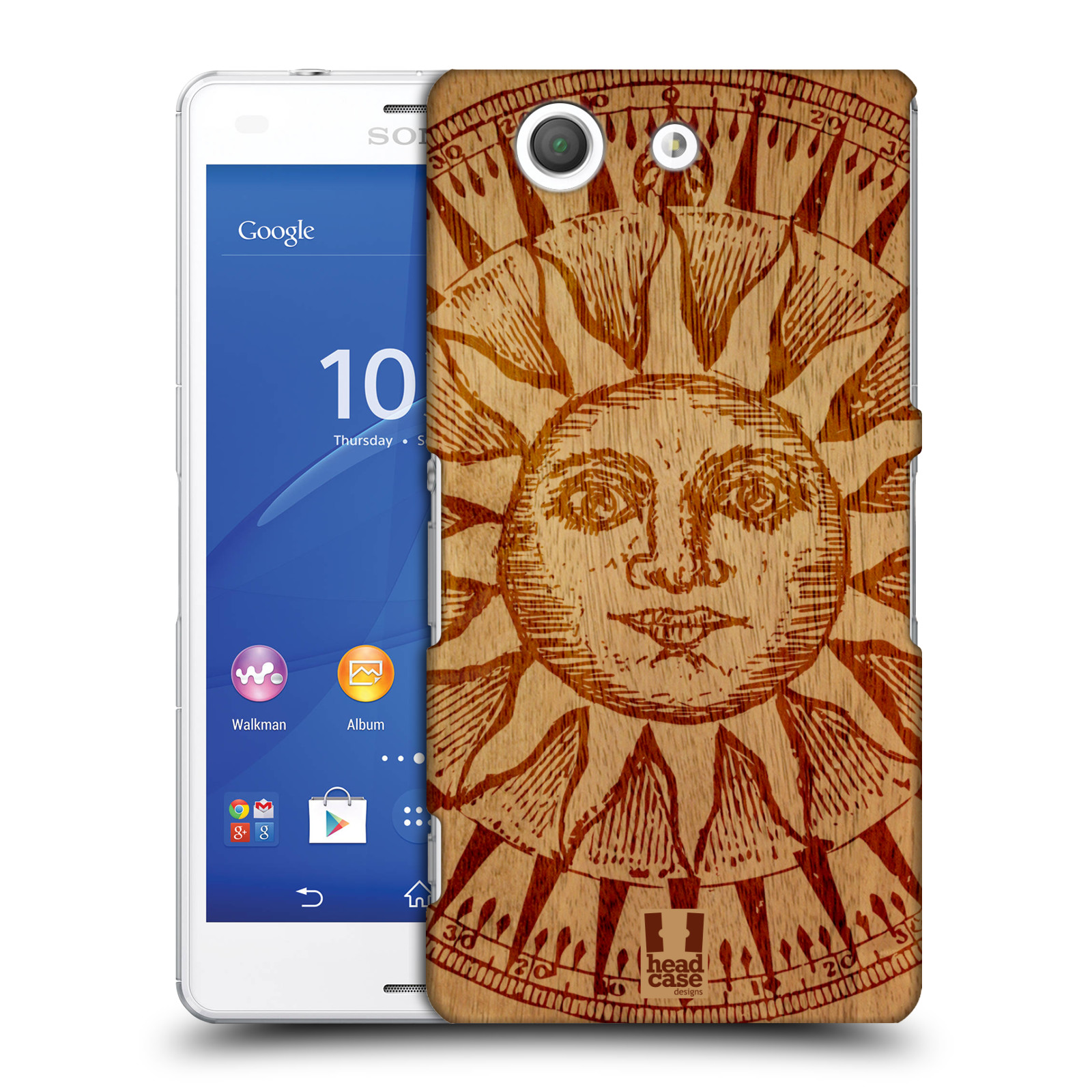 HEAD CASE DESIGNS WOOD ART CASE COVER FOR SONY XPERIA Z3 COMPACT D5833
