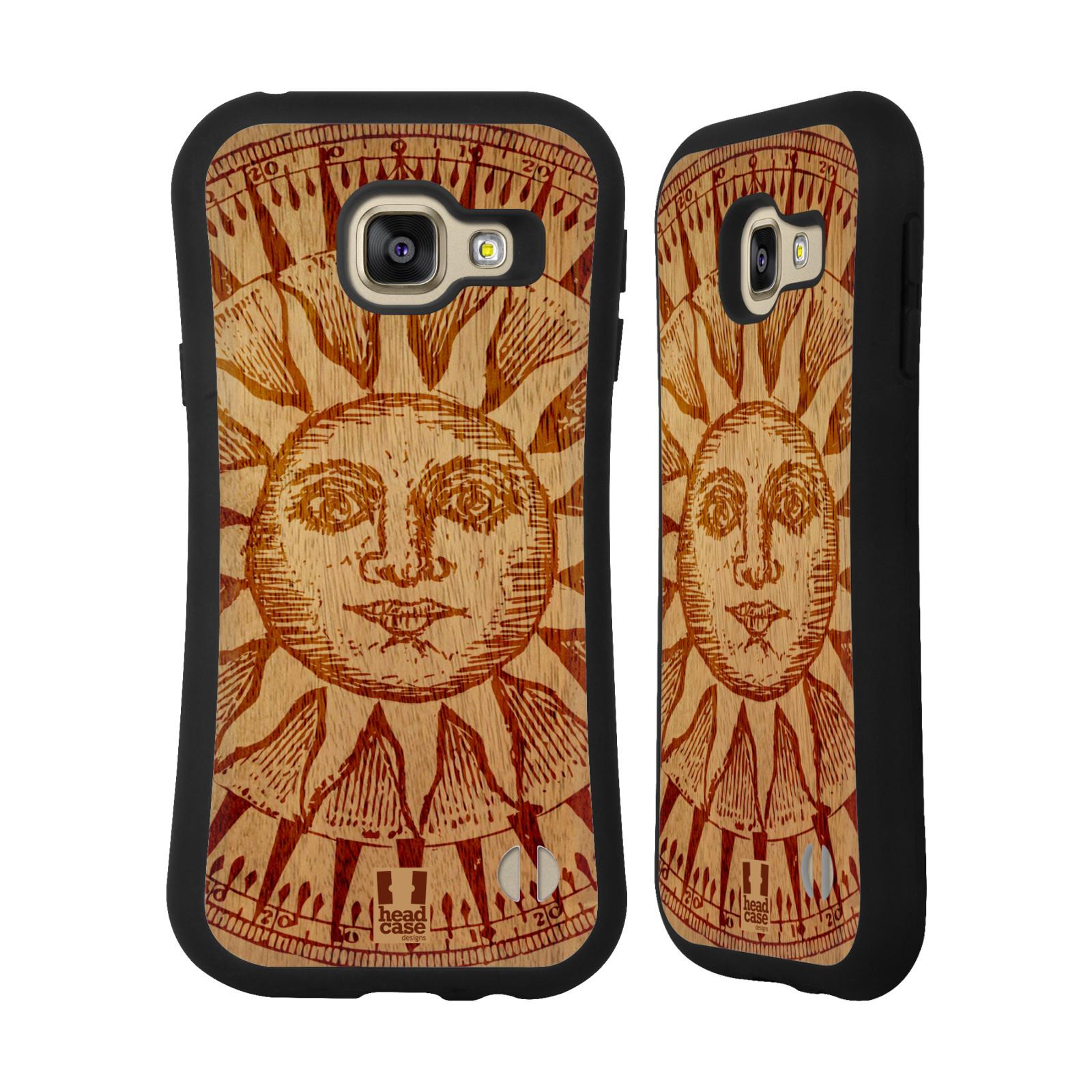 5feaa0992 HEAD CASE silikon/plast odolný obal na mobil Samsung Galaxy A3 2016 vzor  Dřevěné umění empty
