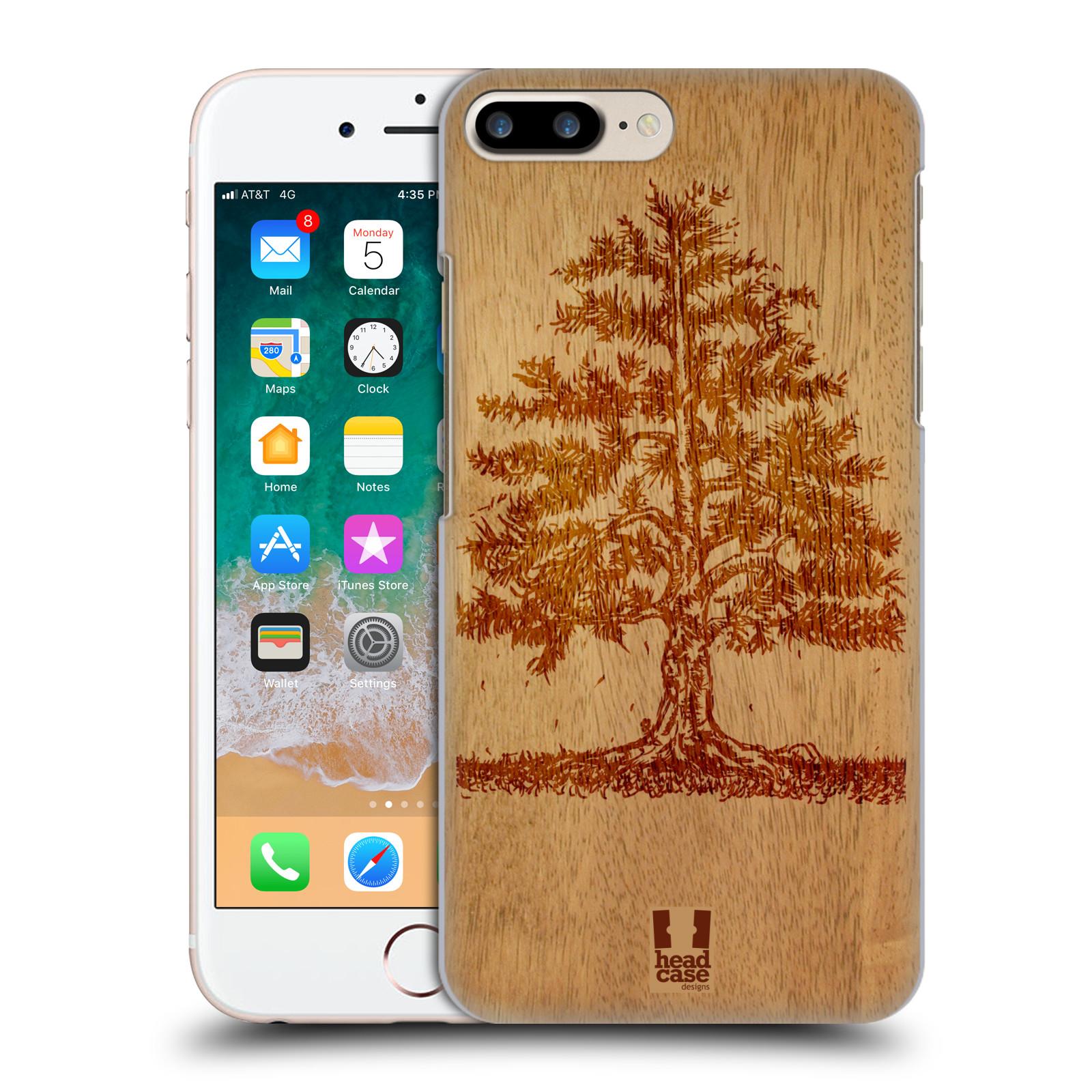 HEAD CASE plastový obal na mobil Apple Iphone 7 PLUS vzor Dřevěné umění STROM