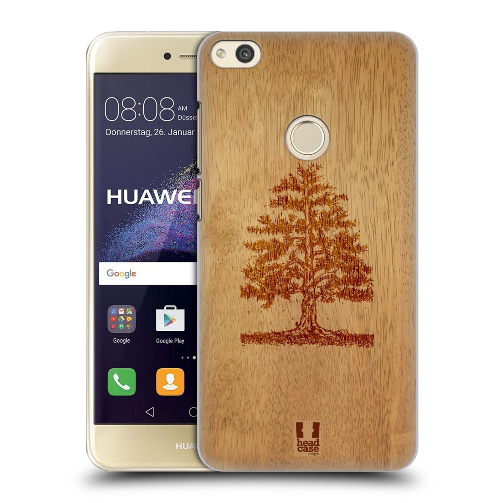 HEAD CASE silikonový obal na mobil Huawei P8 LITE 2017 vzor Dřevěné umění STROM