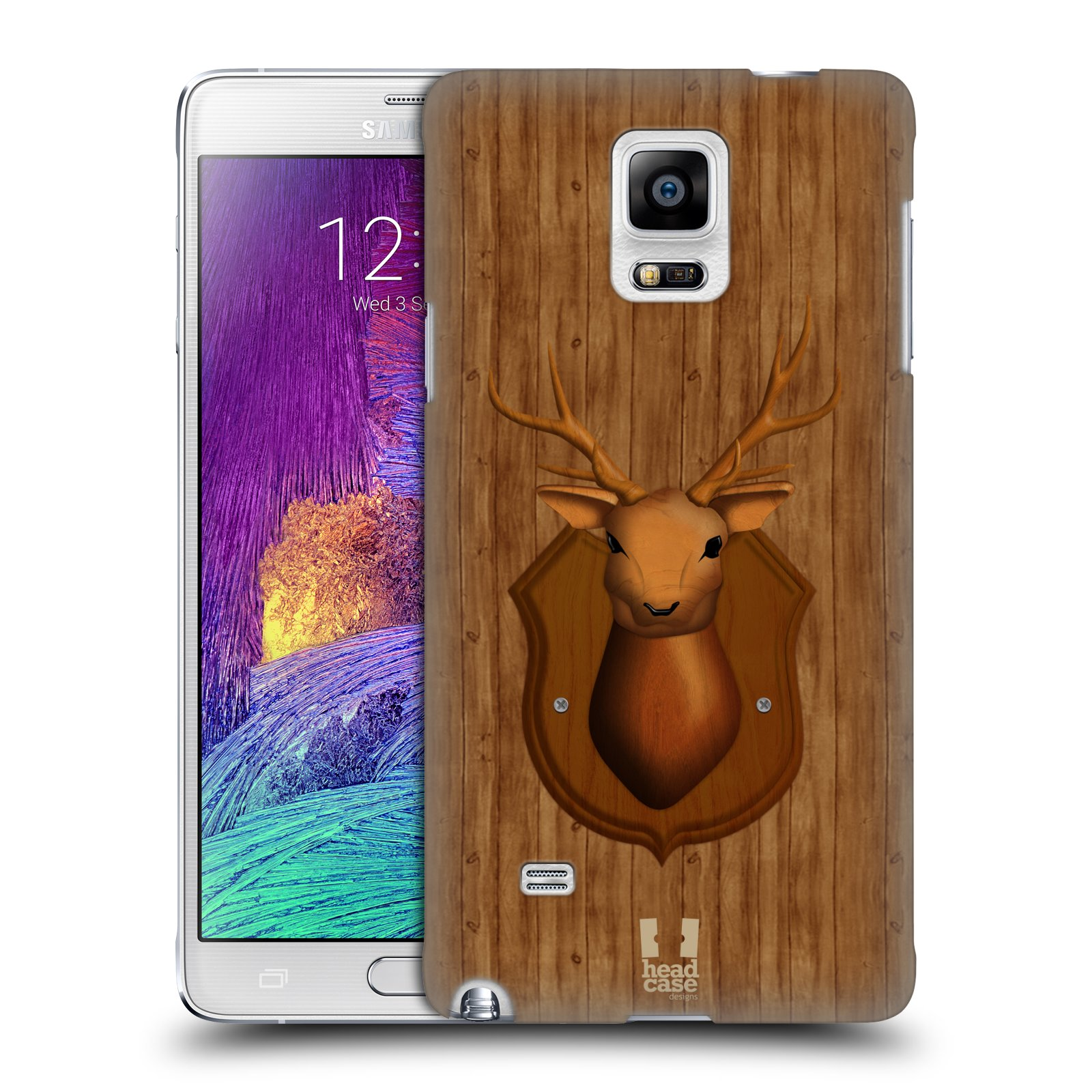 Head Case Designs Wood Craft Case Cover For Samsung Galaxy