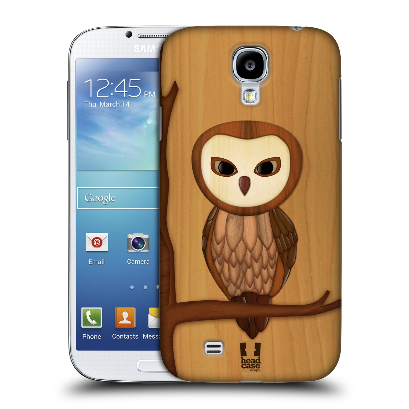 HEAD CASE DESIGNS WOOD CRAFT CASE COVER FOR SAMSUNG GALAXY S4 I9500