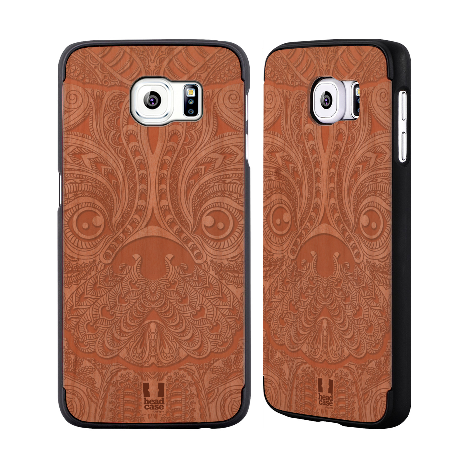Head case designs wooden intricacies rose wood back case for Case design