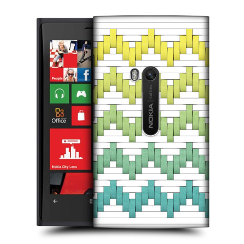 HEAD CASE DESIGNS WOVEN PAPER PATTERNS HARD BACK CASE FOR NOKIA LUMIA 920
