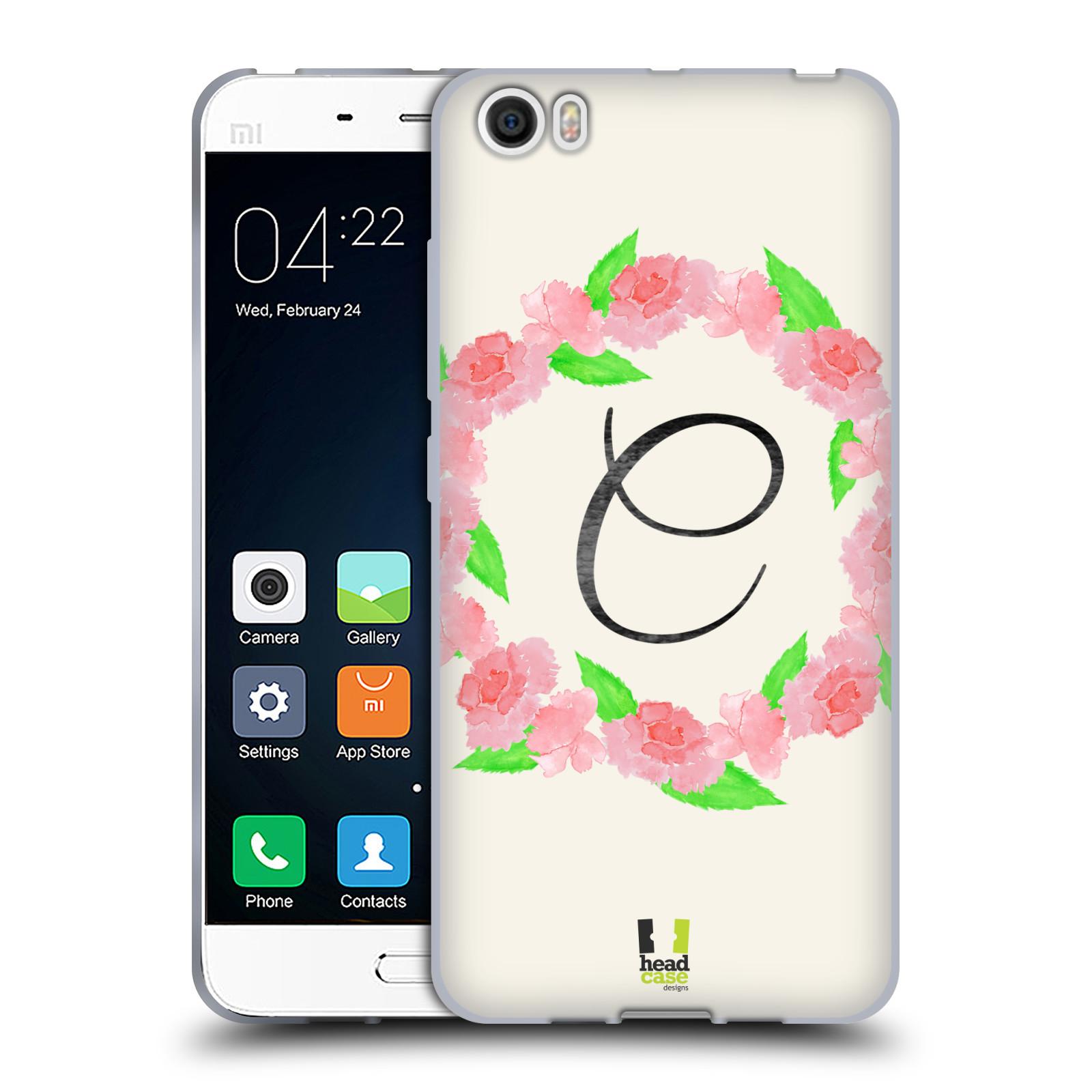 HEAD-CASE-DESIGNS-FLORAL-WREATH-SOFT-GEL-CASE-FOR-XIAOMI-PHONES