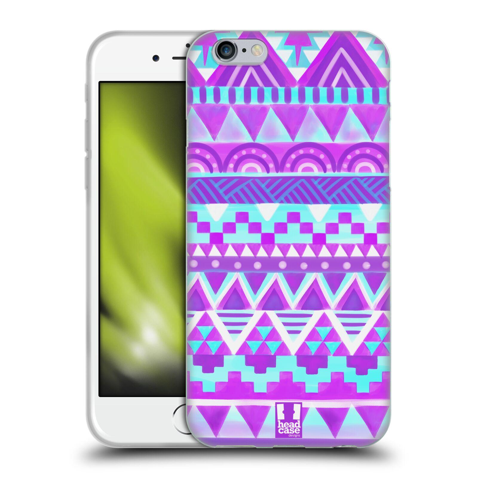 bfb6b3a53 HEAD CASE silikonový obal na mobil Apple Iphone 6/6S vzor CIK CAK barevné  znaky