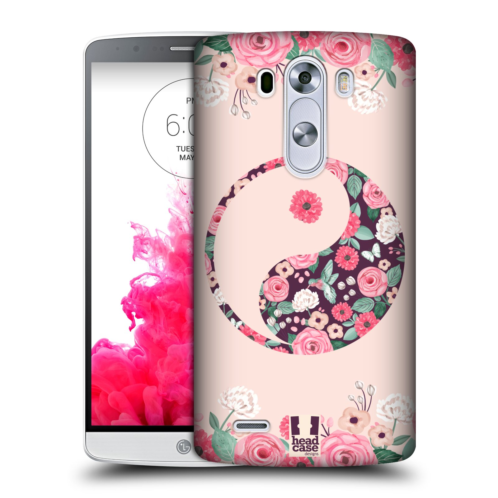 HEAD CASE DESIGNS YIN AND YANG COLLECTION HARD BACK CASE FOR LG PHONES 1