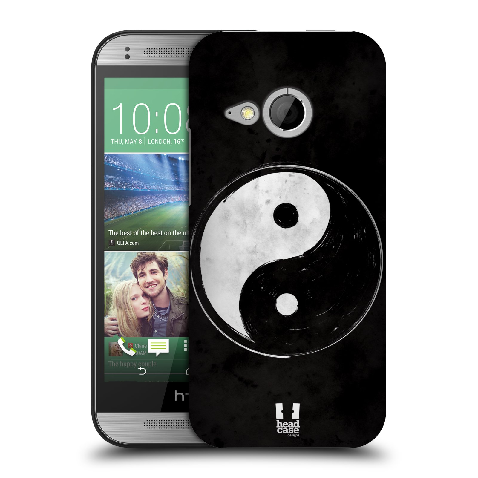 HEAD CASE DESIGNS YIN AND YANG COLLECTION HARD BACK CASE FOR HTC ONE MINI 2