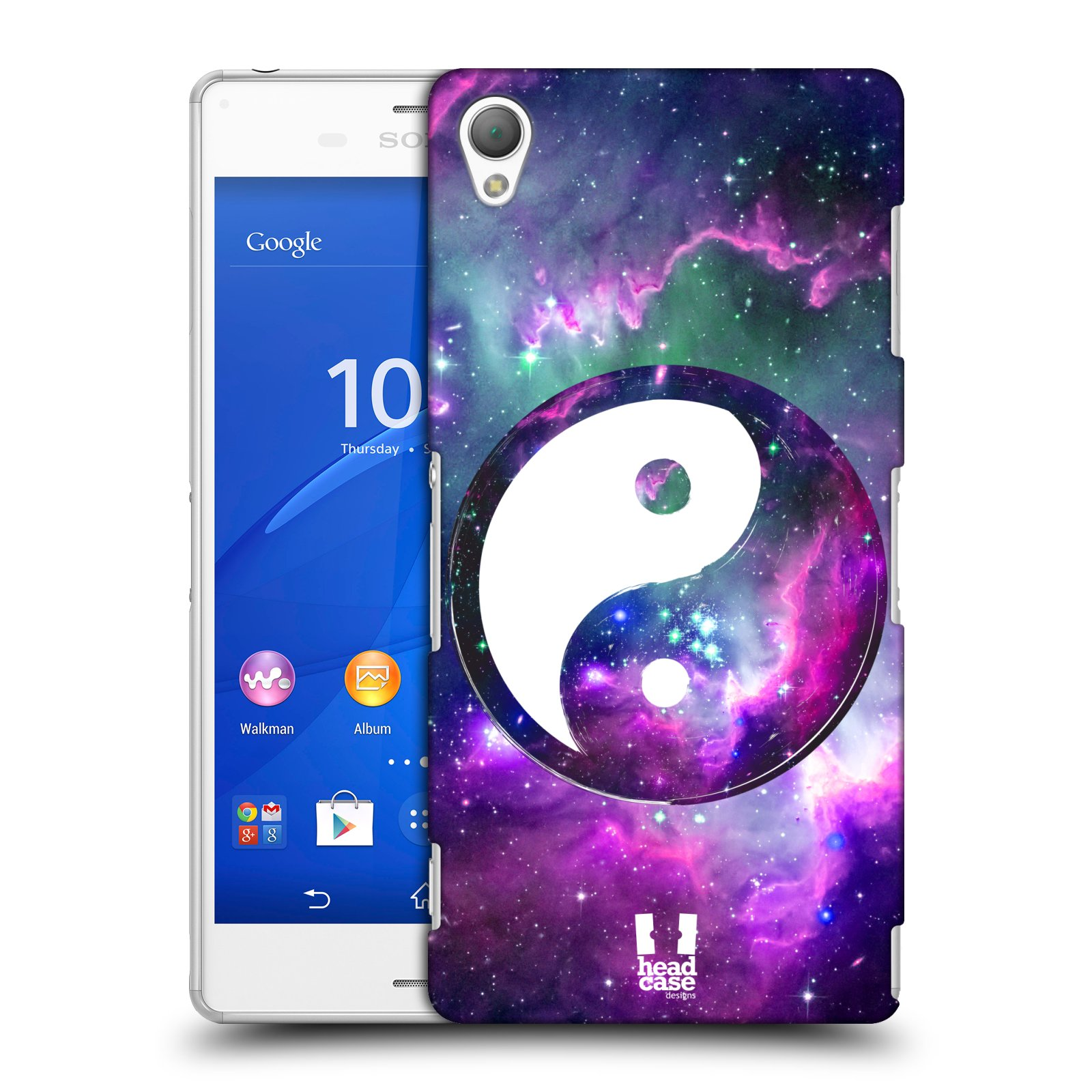 HEAD CASE DESIGNS YIN AND YANG COLLECTION HARD BACK CASE FOR SONY PHONES 1