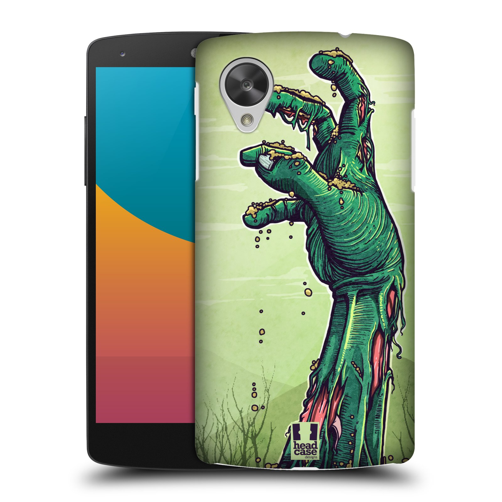 HEAD CASE DESIGNS ZOMBIES CASE COVER FOR LG GOOGLE NEXUS 5 D821
