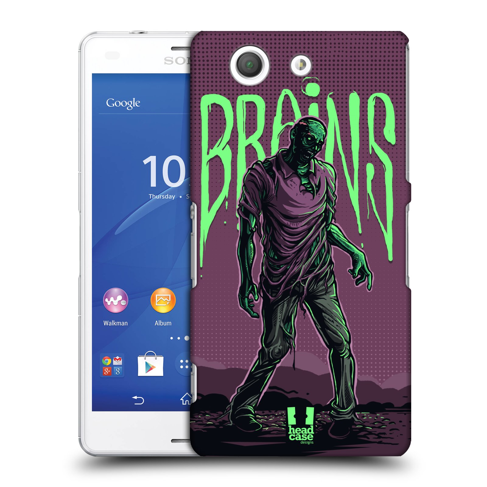 HEAD CASE DESIGNS ZOMBIES CASE COVER FOR SONY XPERIA Z3 COMPACT D5803