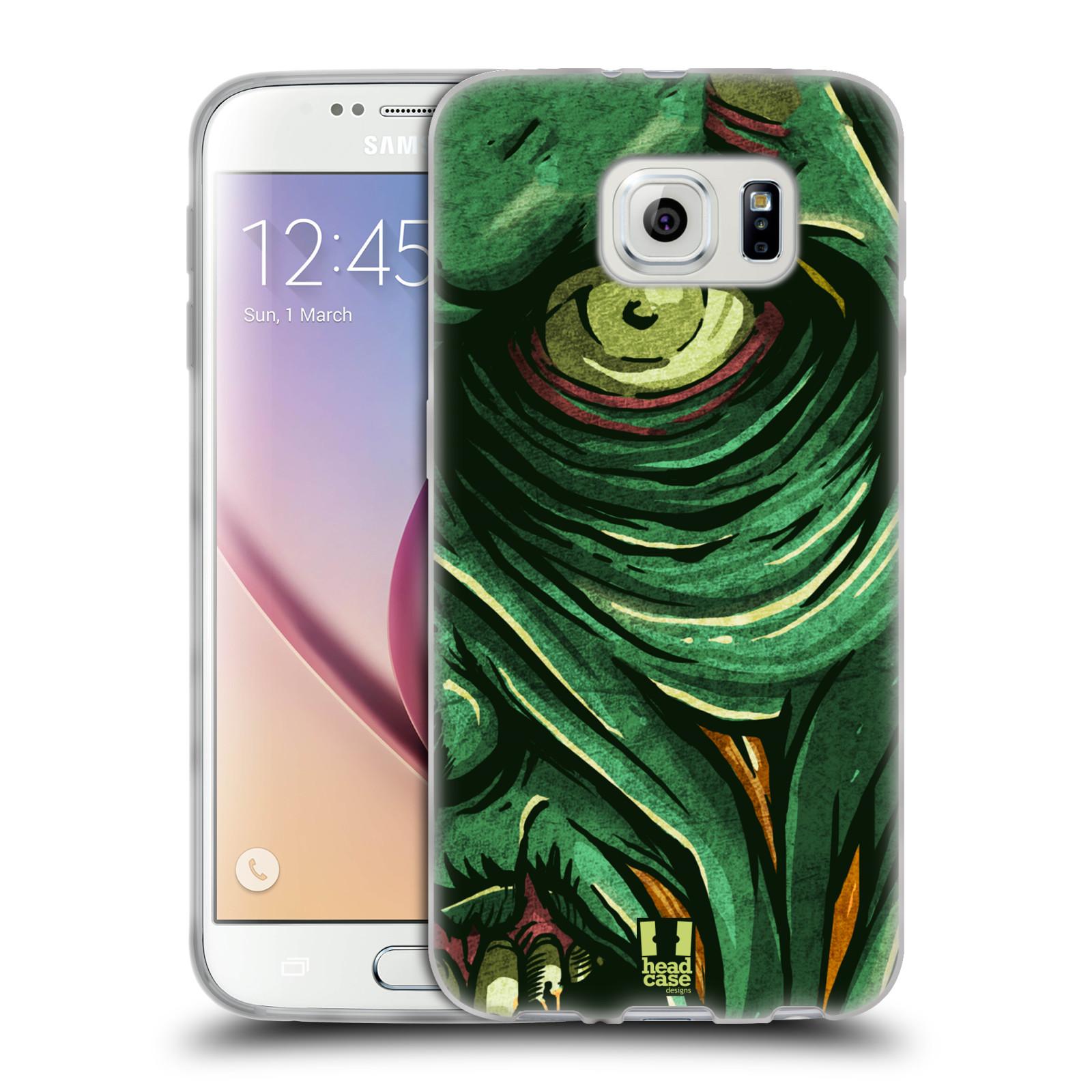HEAD CASE DESIGNS ZOMBIES SOFT GEL CASE FOR SAMSUNG PHONES 1