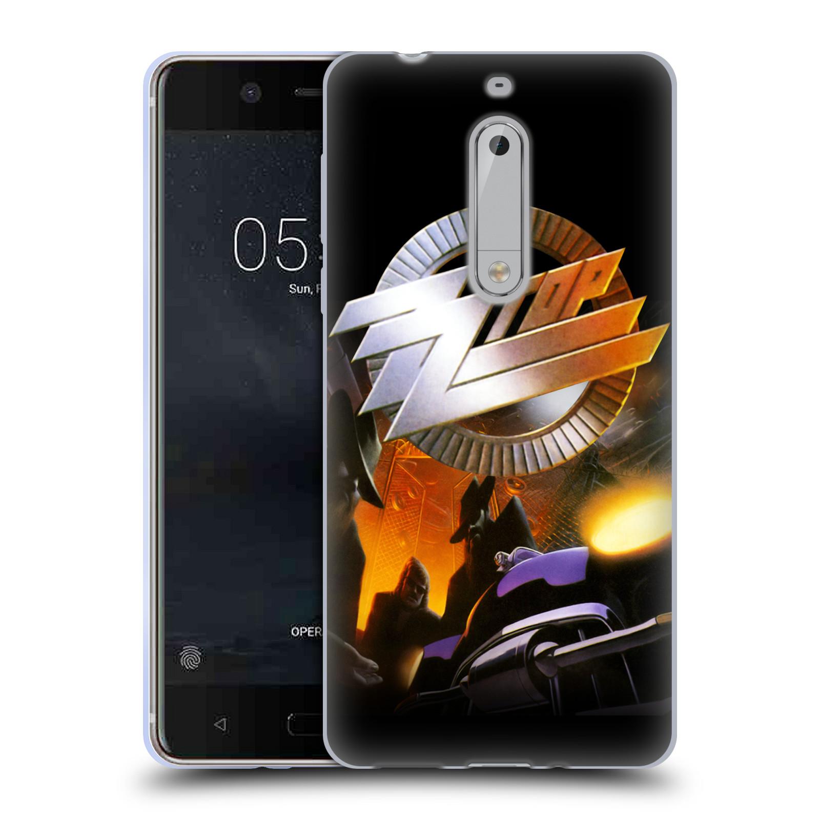 HEAD CASE silikonový obal na mobil Nokia 5 ZZ Top album Recycler