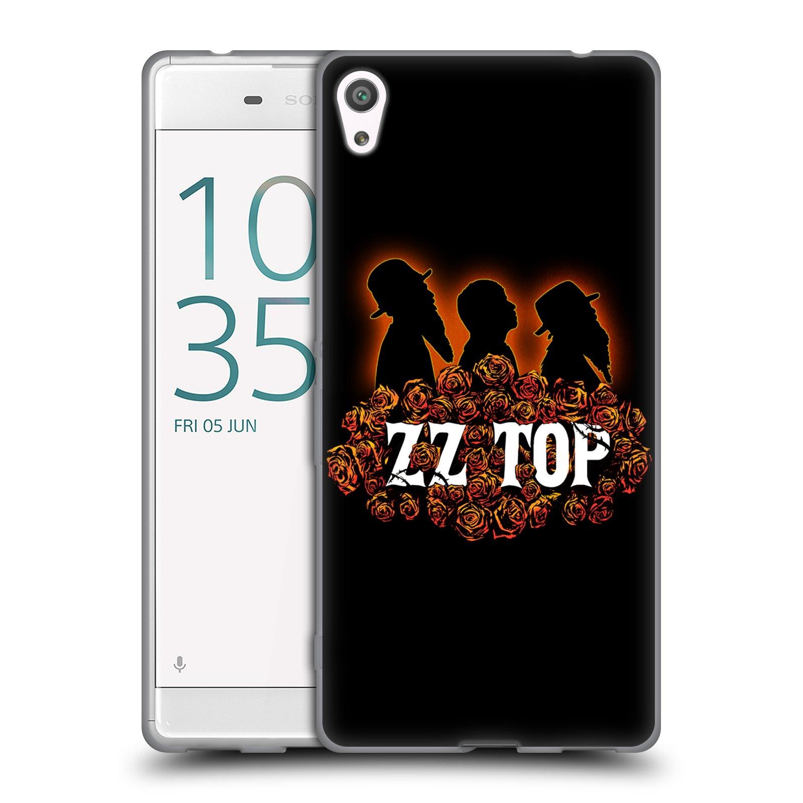 HEAD CASE silikonový obal na mobil Sony Xperia XA ULTRA ZZ Top originální obal silueta
