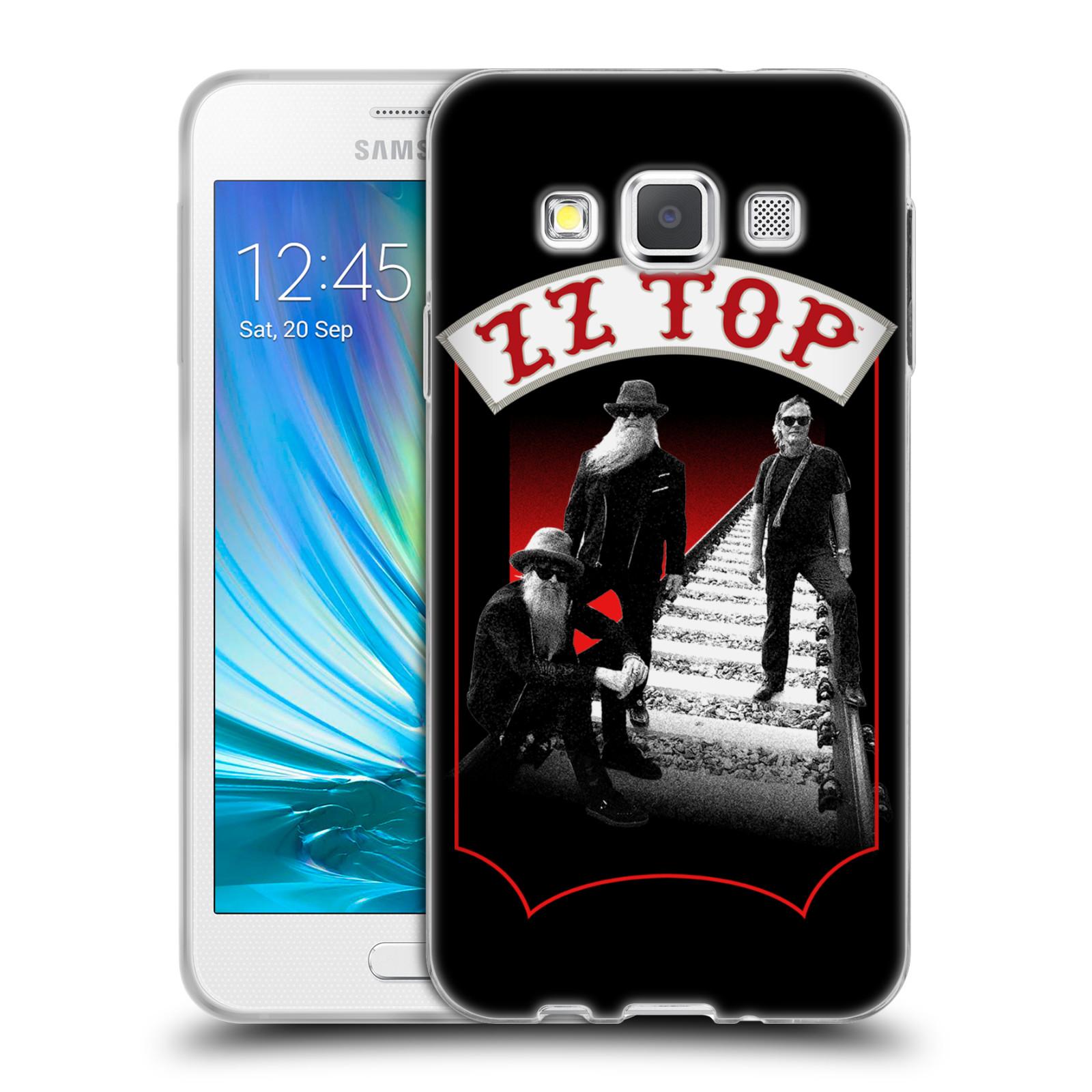 HEAD CASE silikonový obal na mobil Samsung Galaxy A3 (A300) ZZ Top koleje zpěváci