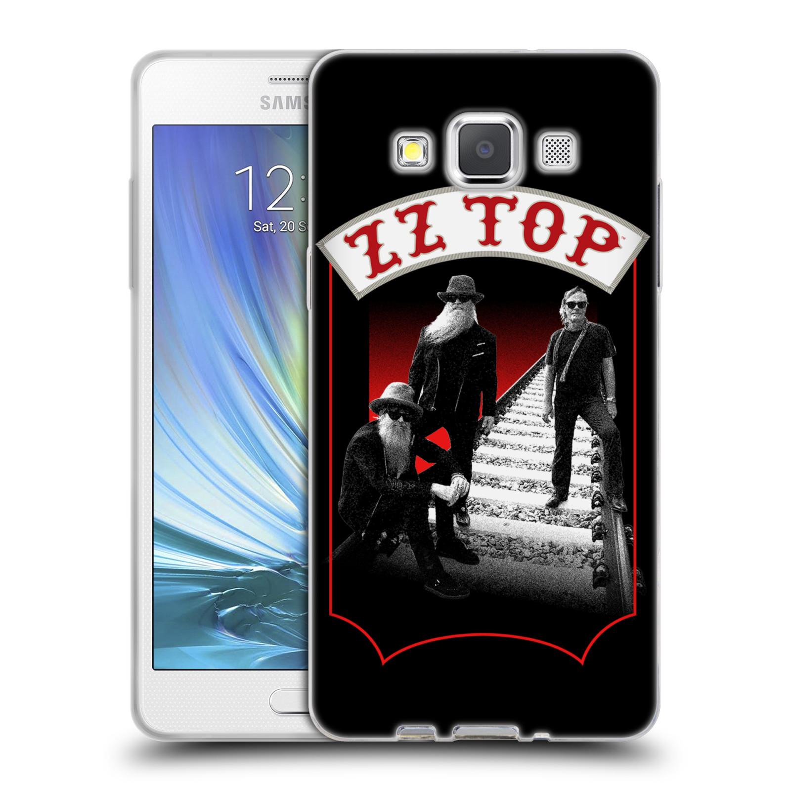 HEAD CASE silikonový obal na mobil Samsung Galaxy A5 (A500) ZZ Top koleje zpěváci