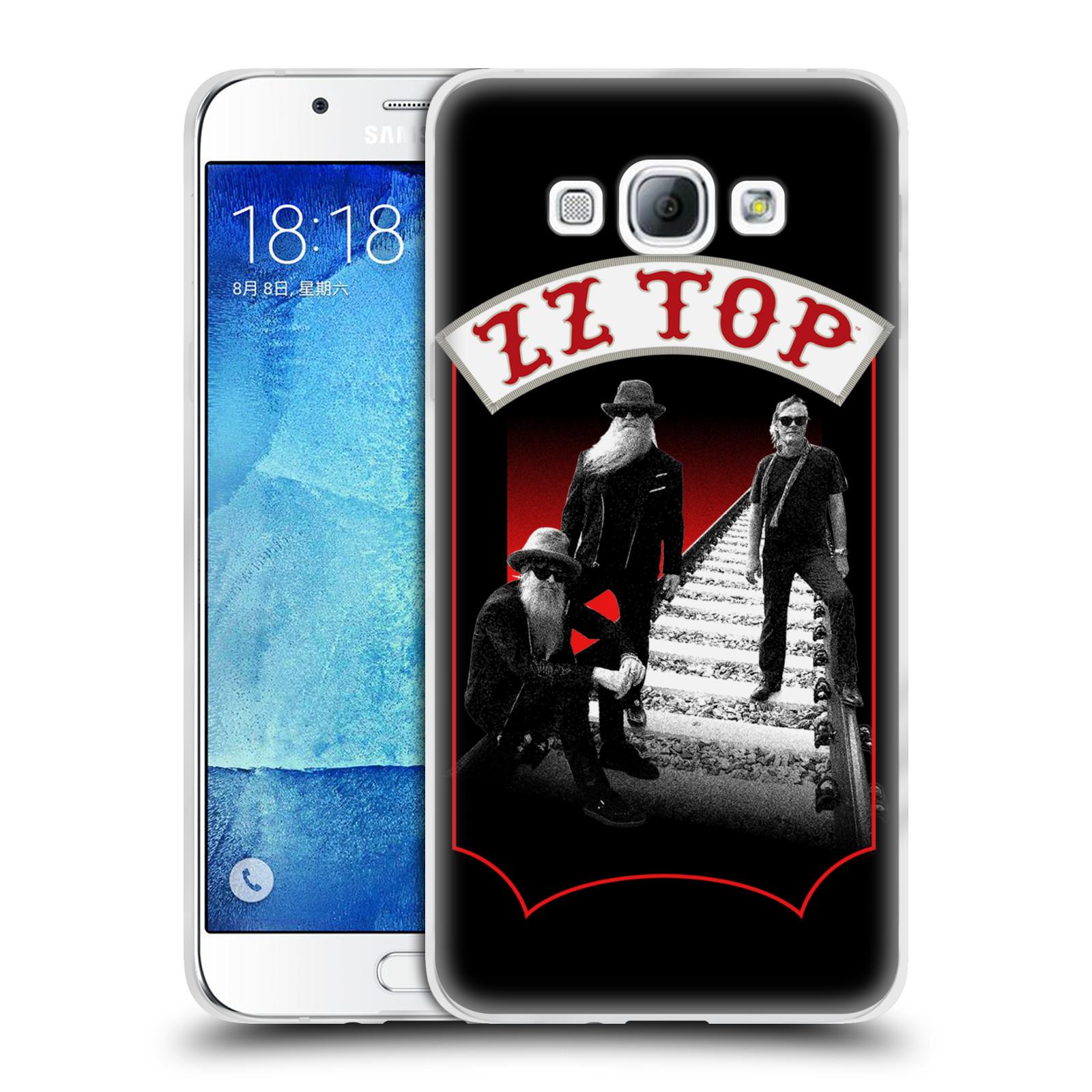 HEAD CASE silikonový obal na mobil Samsung Galaxy A8 2015 ZZ Top koleje zpěváci