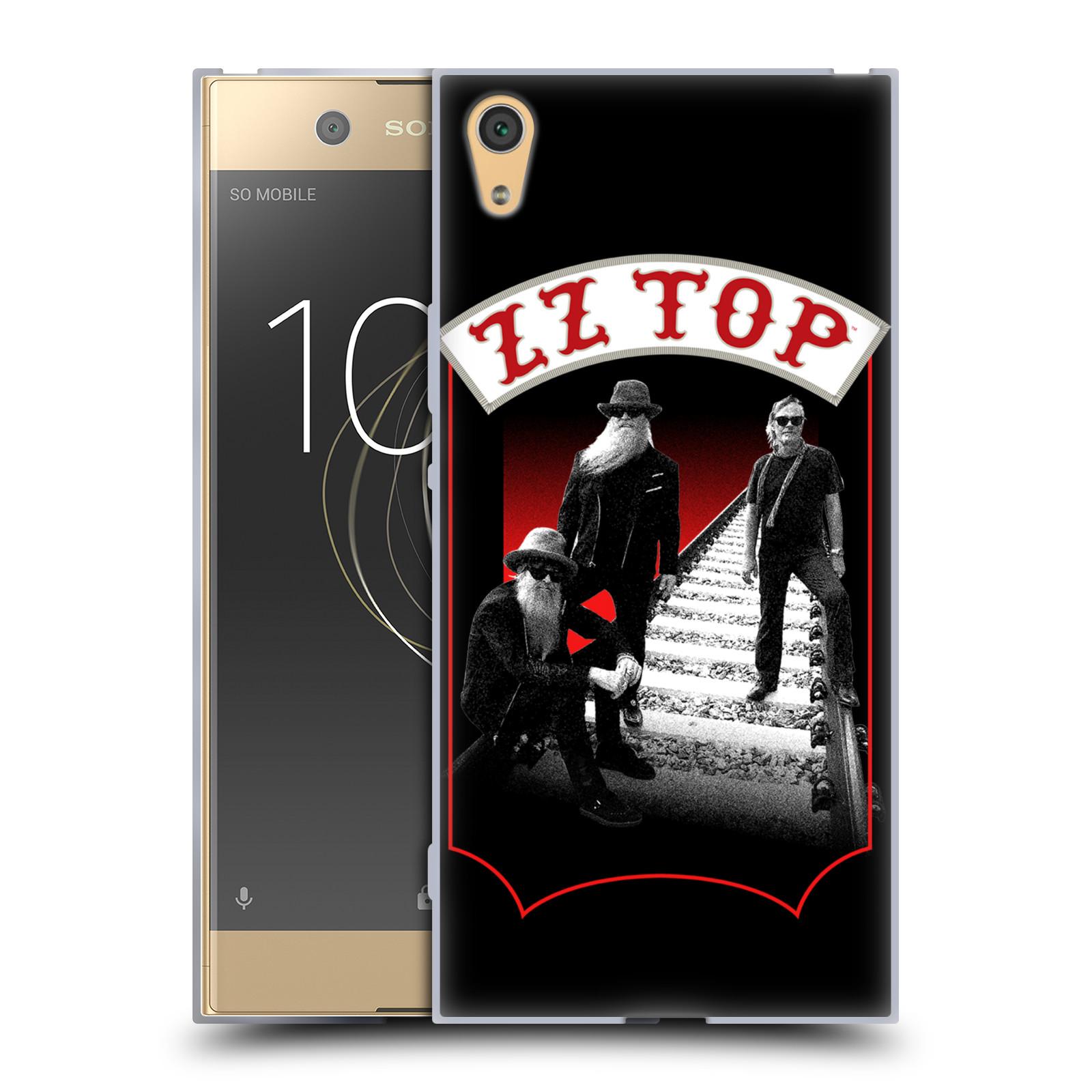 HEAD CASE silikonový obal na mobil Sony Xperia XA1 ULTRA ZZ Top koleje zpěváci