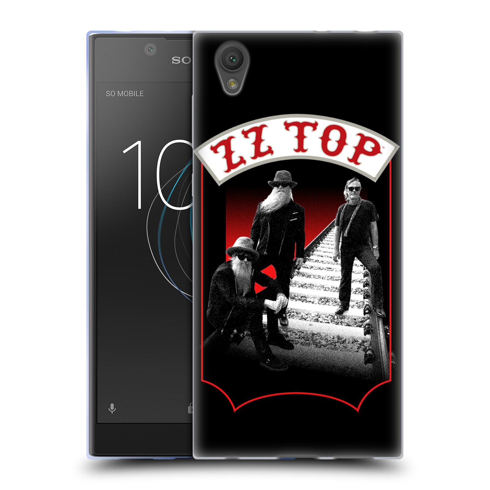HEAD CASE silikonový obal na mobil Sony Xperia L1 ZZ Top koleje zpěváci