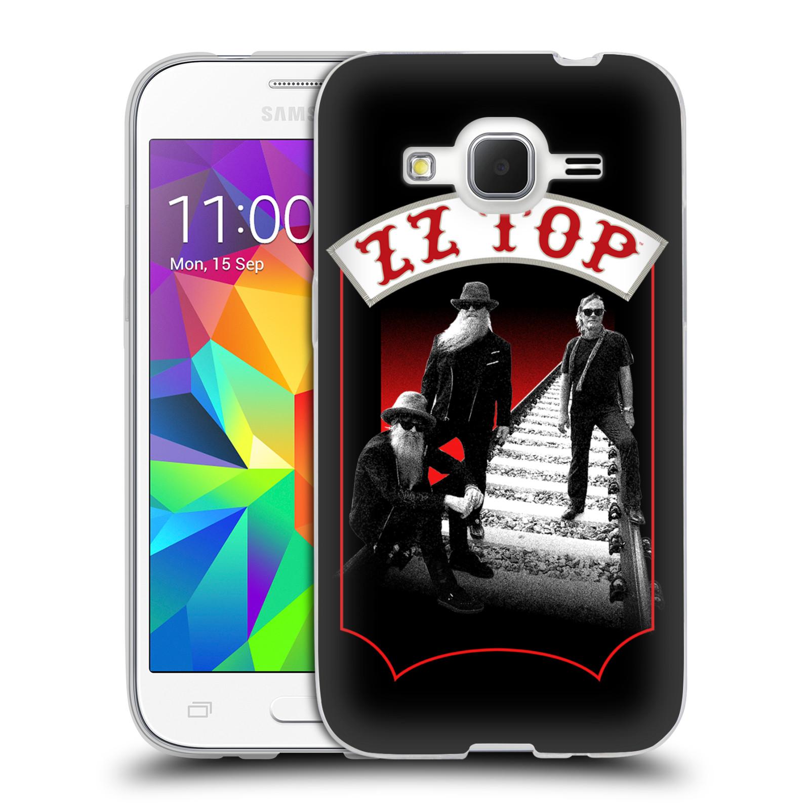 HEAD CASE silikonový obal na mobil Samsung Galaxy Core Prime (G360) ZZ Top koleje zpěváci