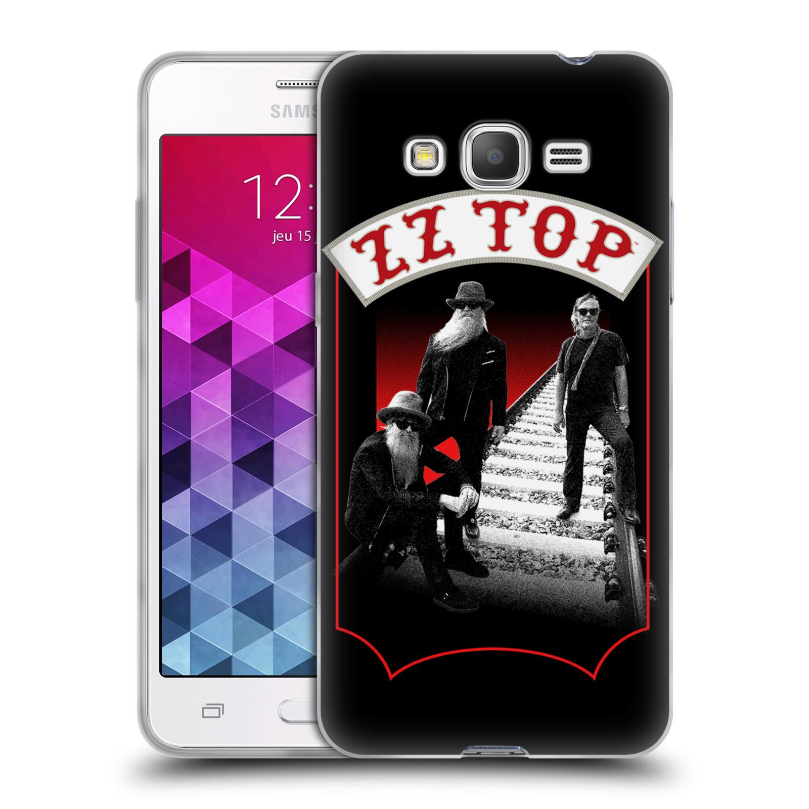HEAD CASE silikonový obal na mobil Samsung Galaxy Grand Prime ZZ Top koleje zpěváci