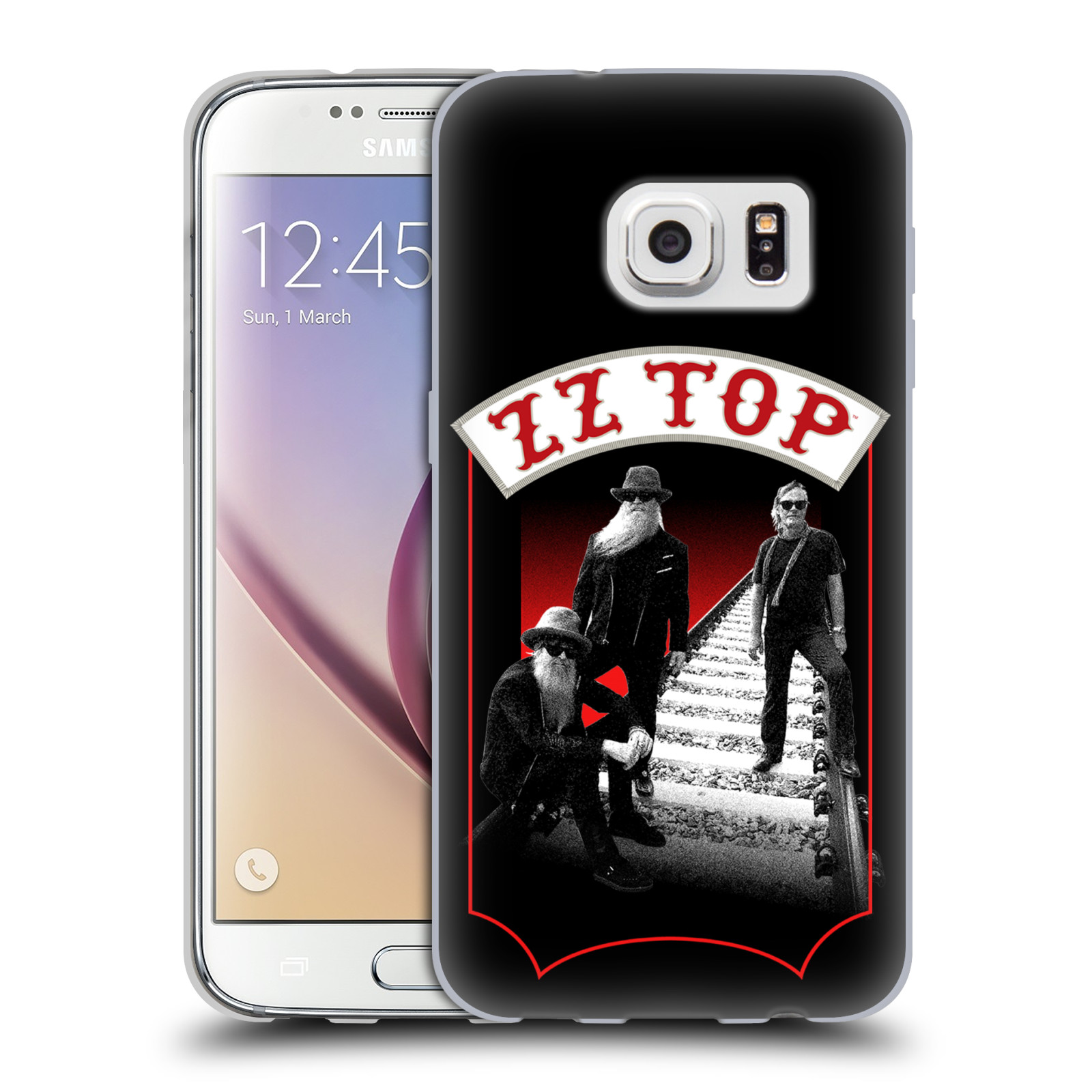 HEAD CASE silikonový obal na mobil Samsung Galaxy S7 ZZ Top koleje zpěváci