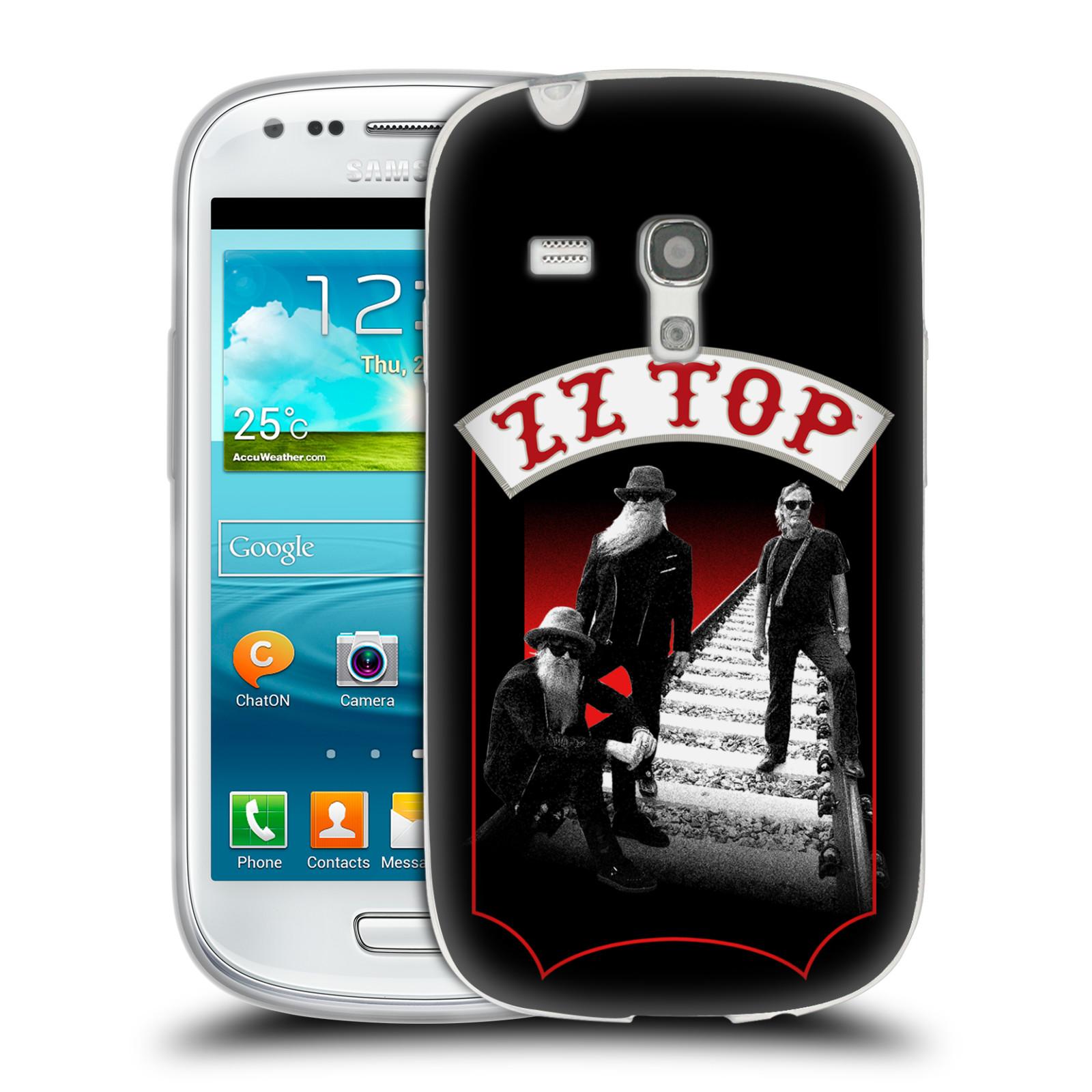 HEAD CASE silikonový obal na mobil Samsung Galaxy S3 MINI ZZ Top koleje zpěváci