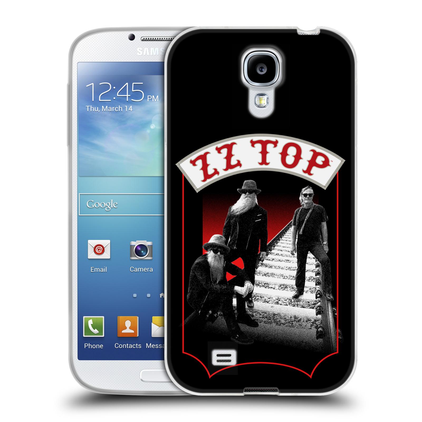 HEAD CASE silikonový obal na mobil Samsung Galaxy S4 ZZ Top koleje zpěváci