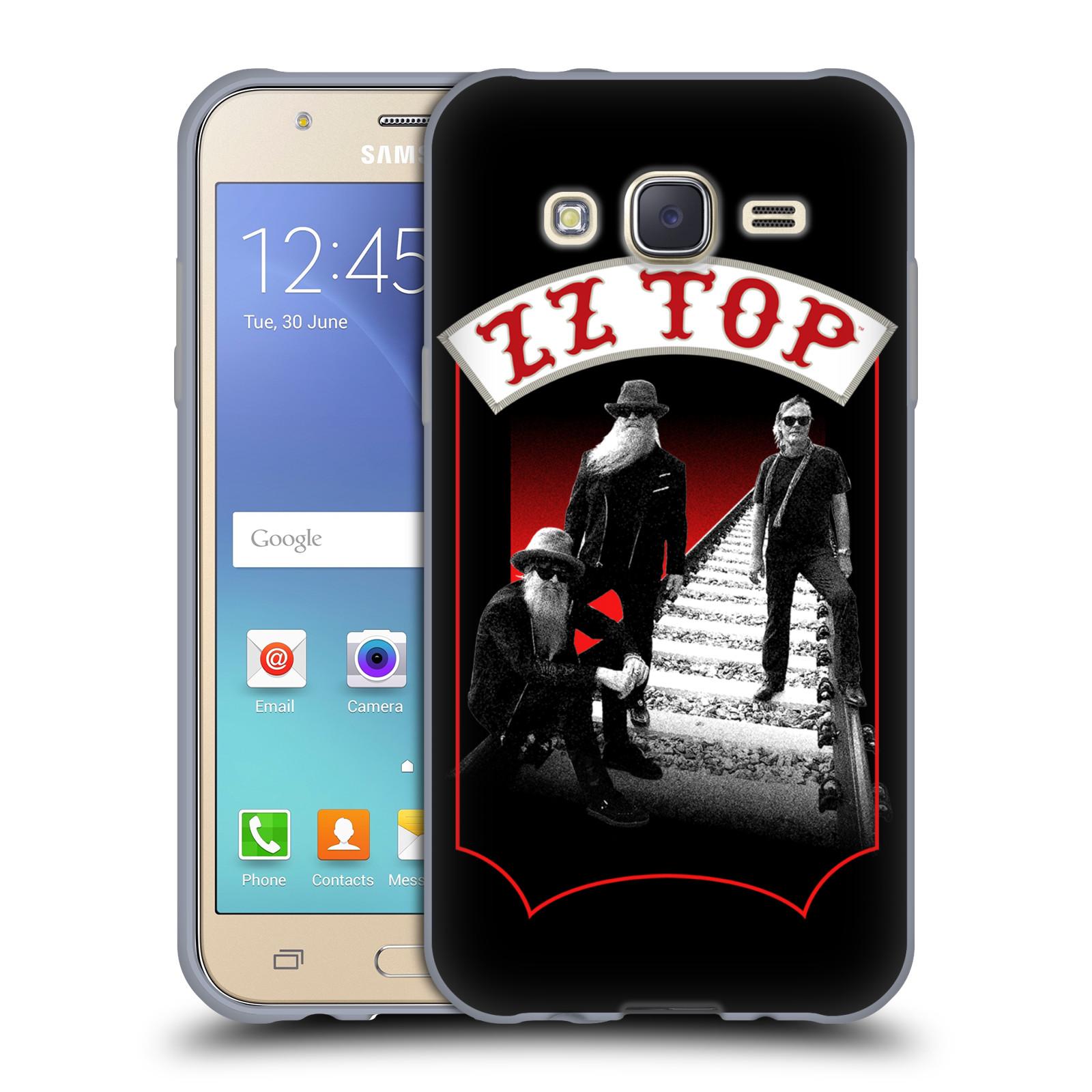 HEAD CASE silikonový obal na mobil Samsung Galaxy J5 2015 (J500) ZZ Top koleje zpěváci
