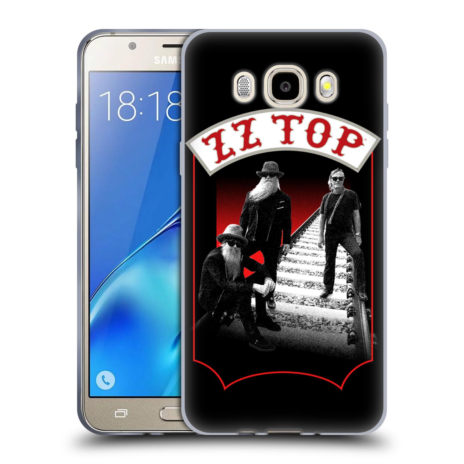 HEAD CASE silikonový obal na mobil Samsung Galaxy J5 2016 (J510) ZZ Top koleje zpěváci