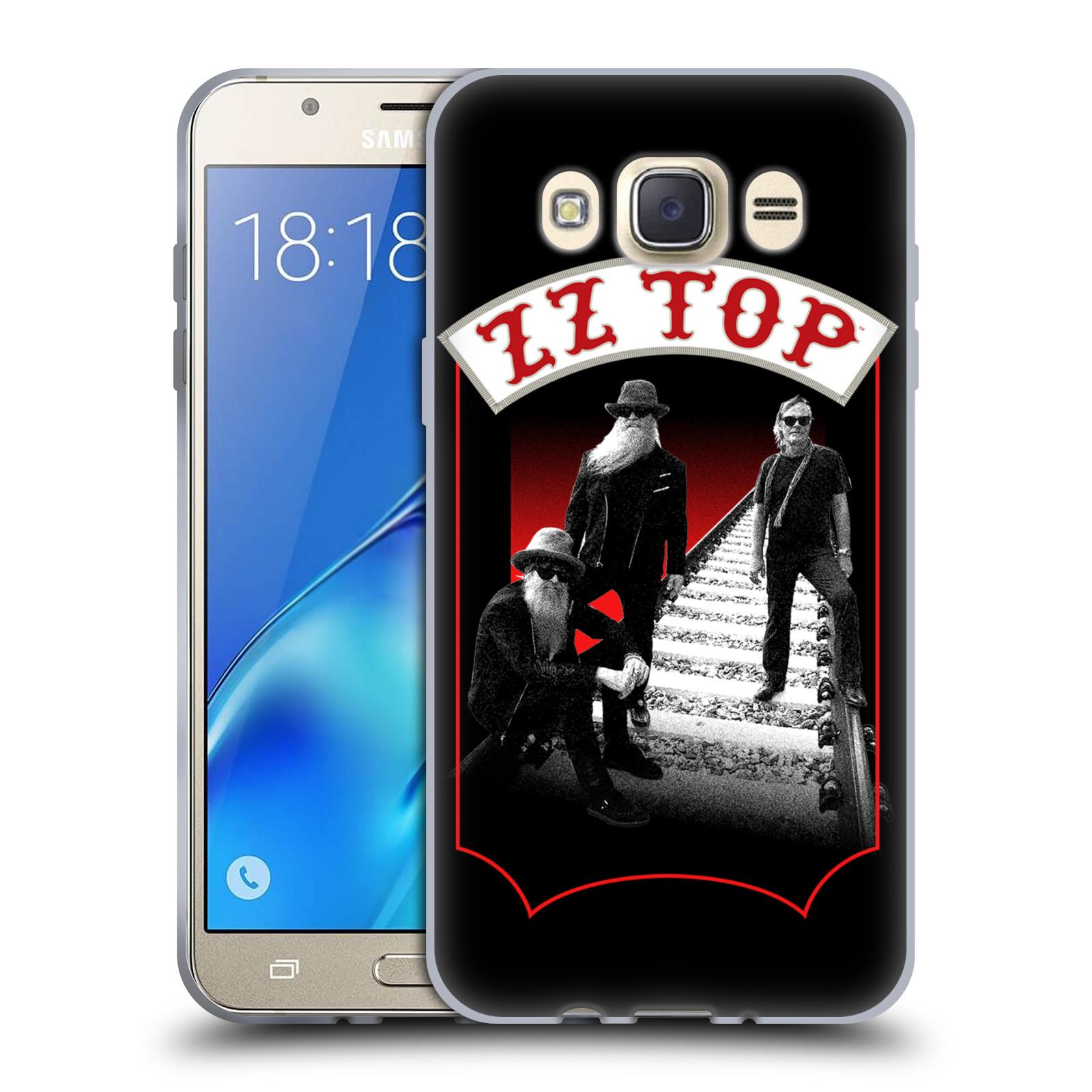 HEAD CASE silikonový obal na mobil Samsung Galaxy J7 2016 ZZ Top koleje zpěváci