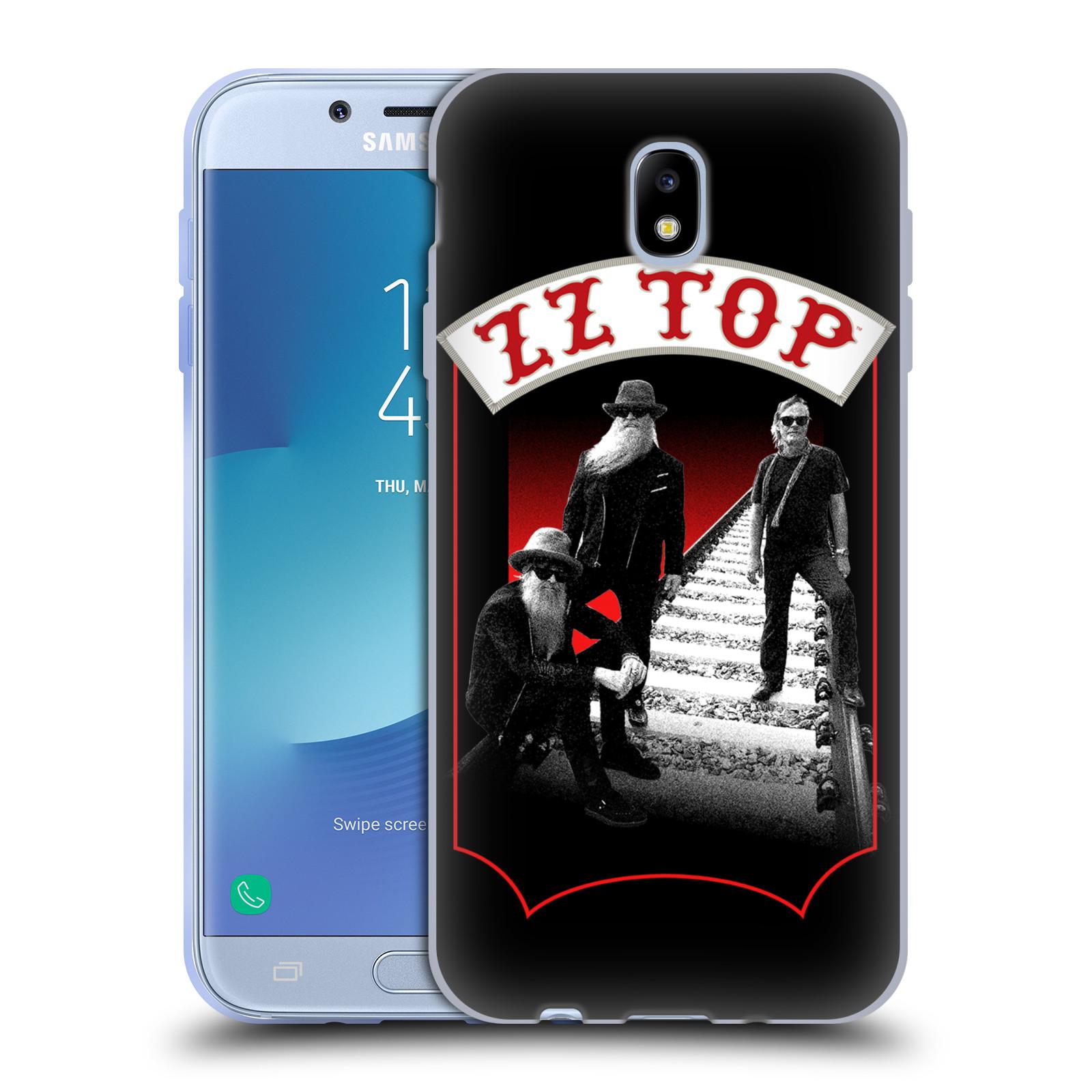 HEAD CASE silikonový obal na mobil Samsung Galaxy J7 2017 ZZ Top koleje zpěváci
