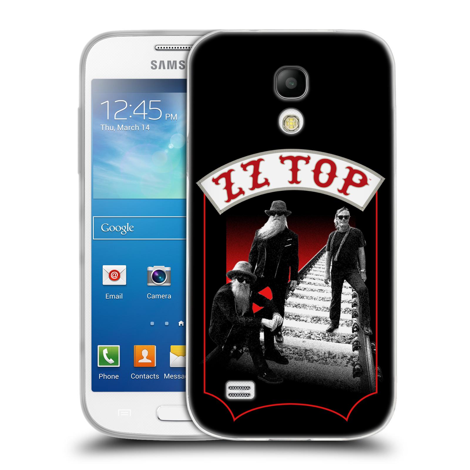 HEAD CASE silikonový obal na mobil Samsung Galaxy S4 MINI ZZ Top koleje zpěváci